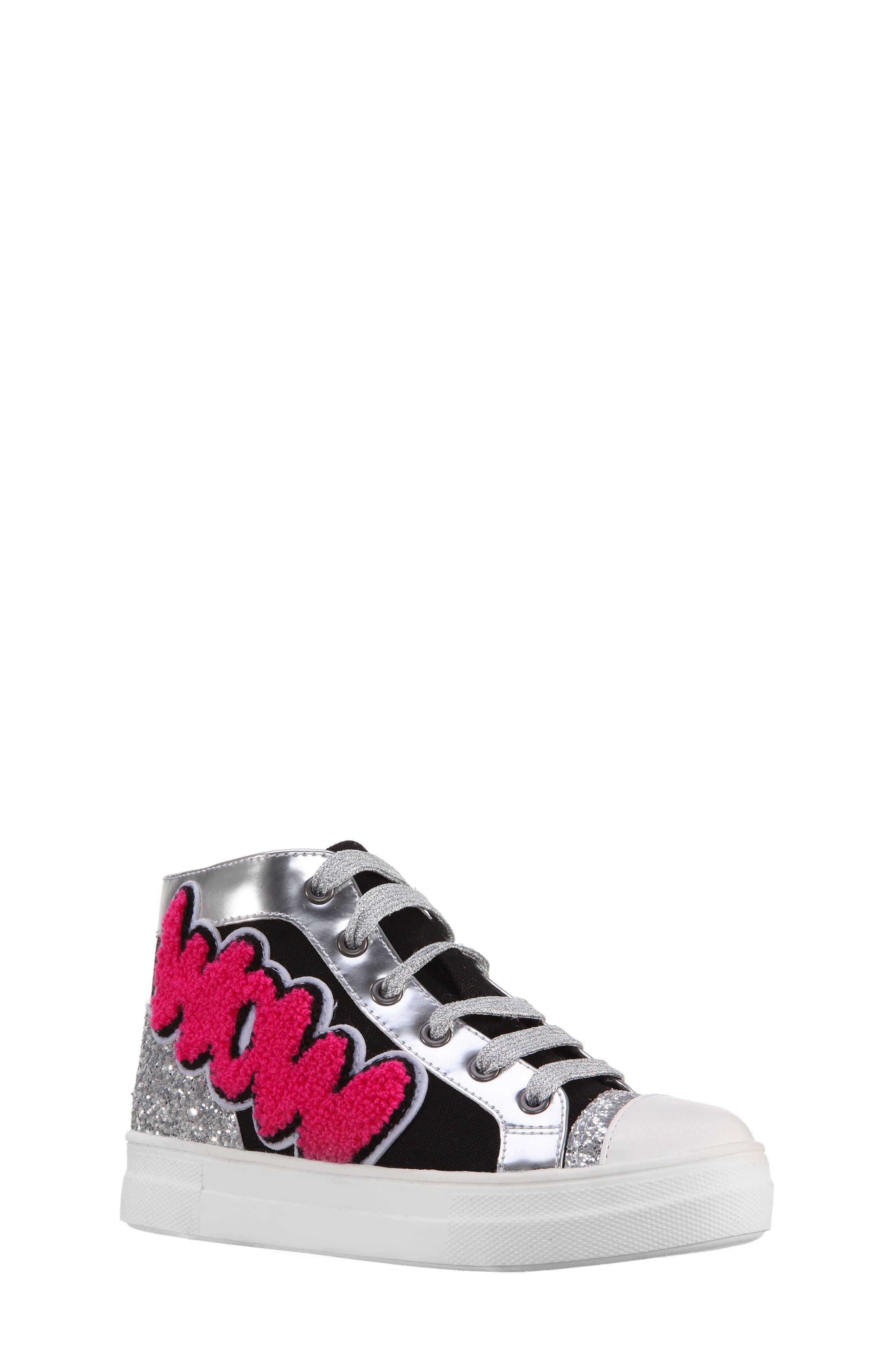 Main Image - Nina Gita High Top Sneaker (Toddler, Little Kid & Big Kid)