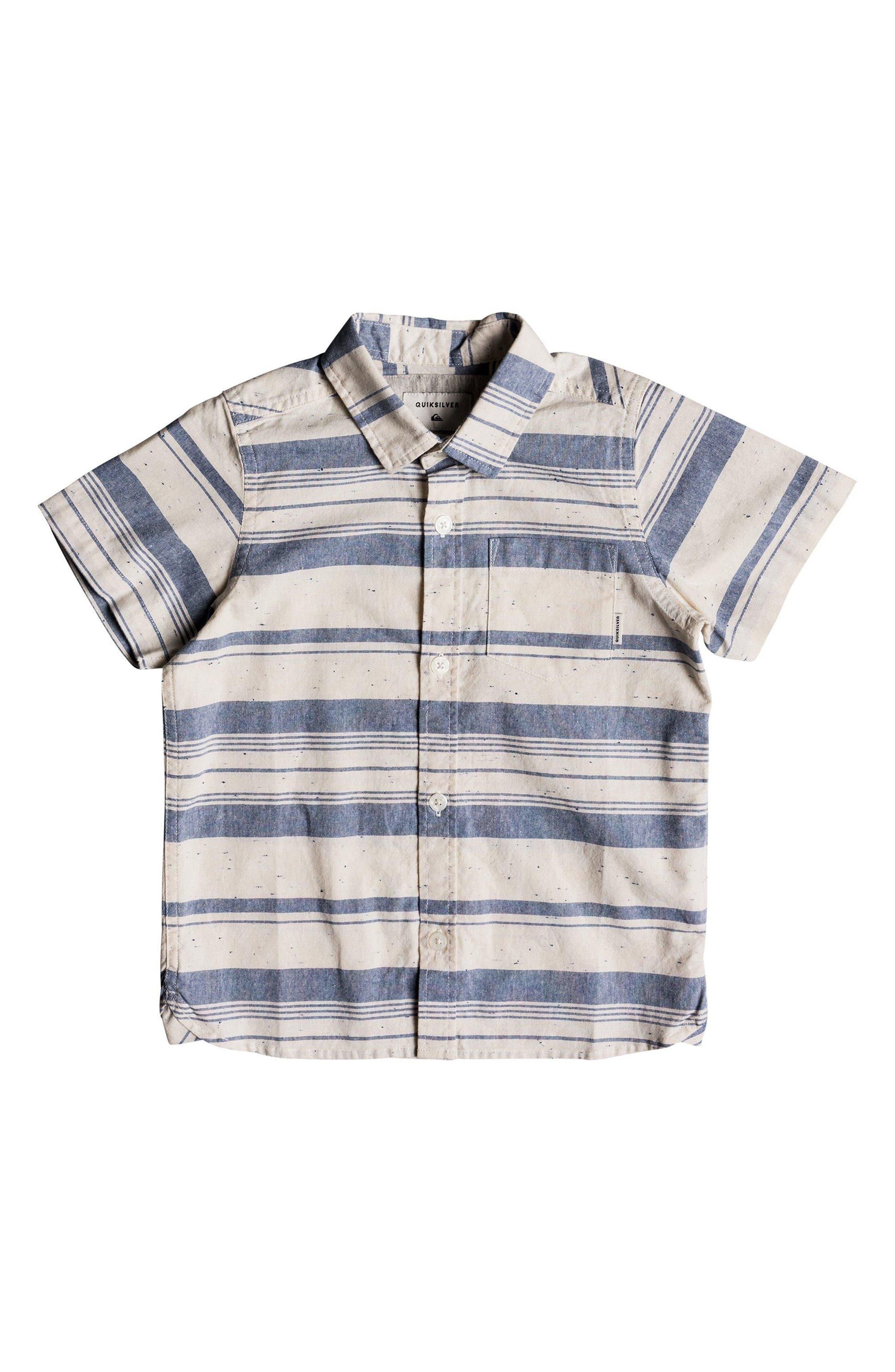Quiksilver Good Wall Woven Shirt (Toddler Boys & Little Boys)