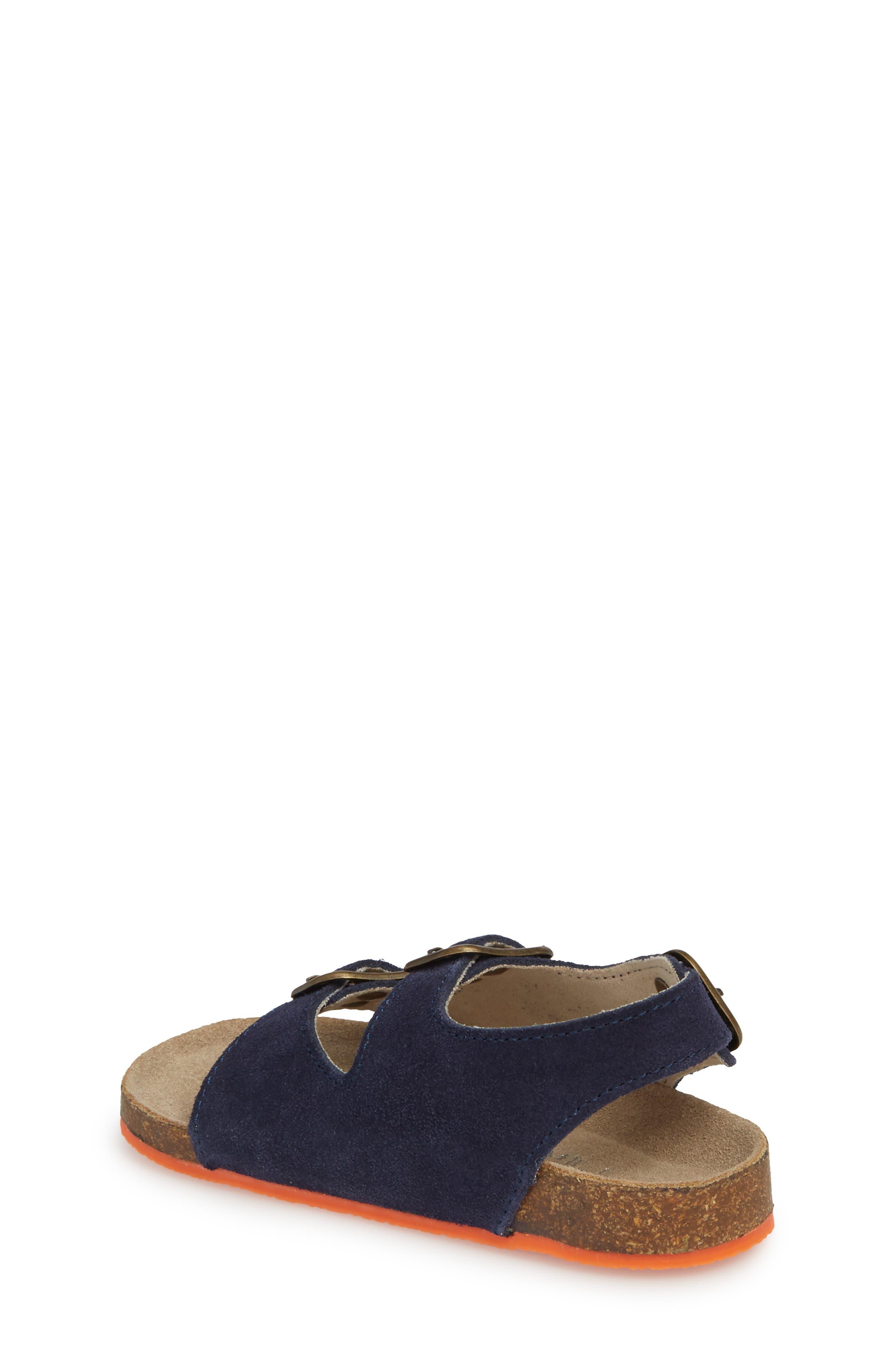 Sandal,                             Alternate thumbnail 2, color,                             School Navy