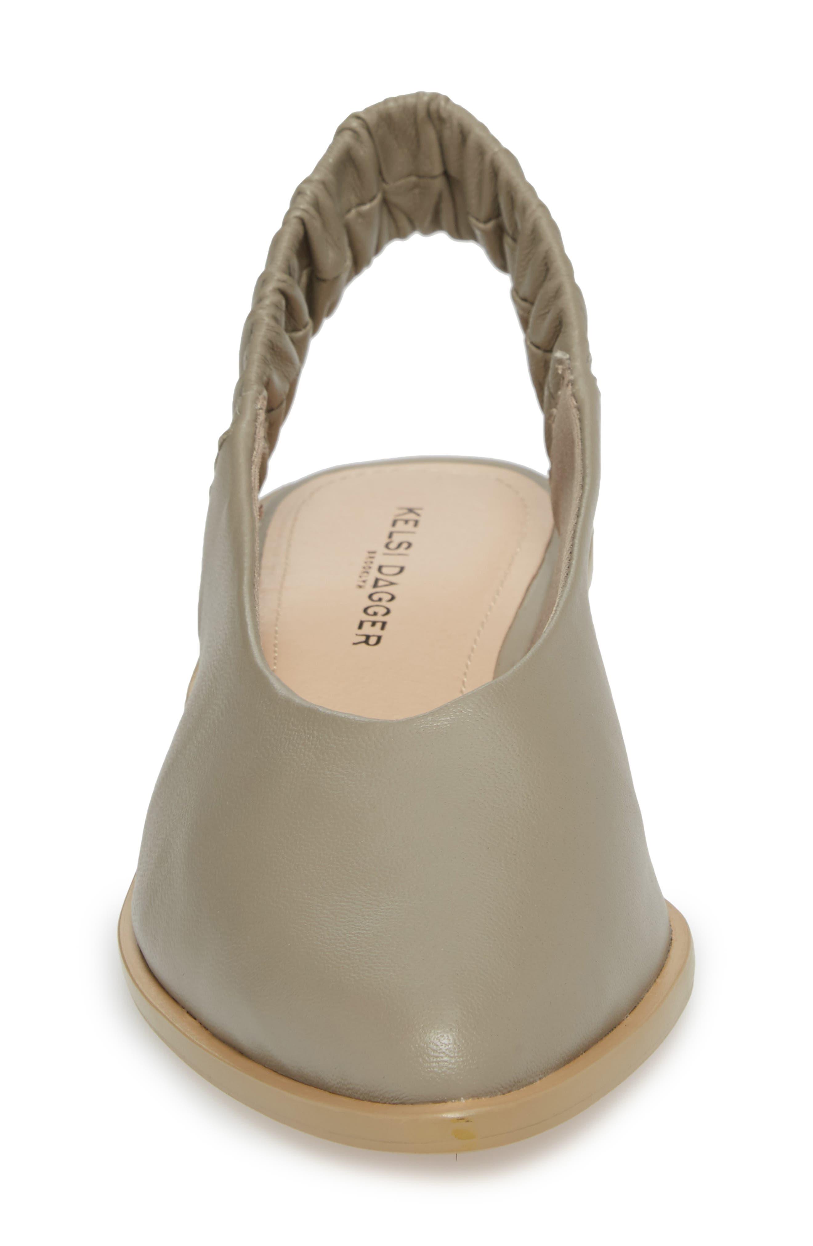 Alton Slingback Sandal,                             Alternate thumbnail 4, color,                             Clove Leather