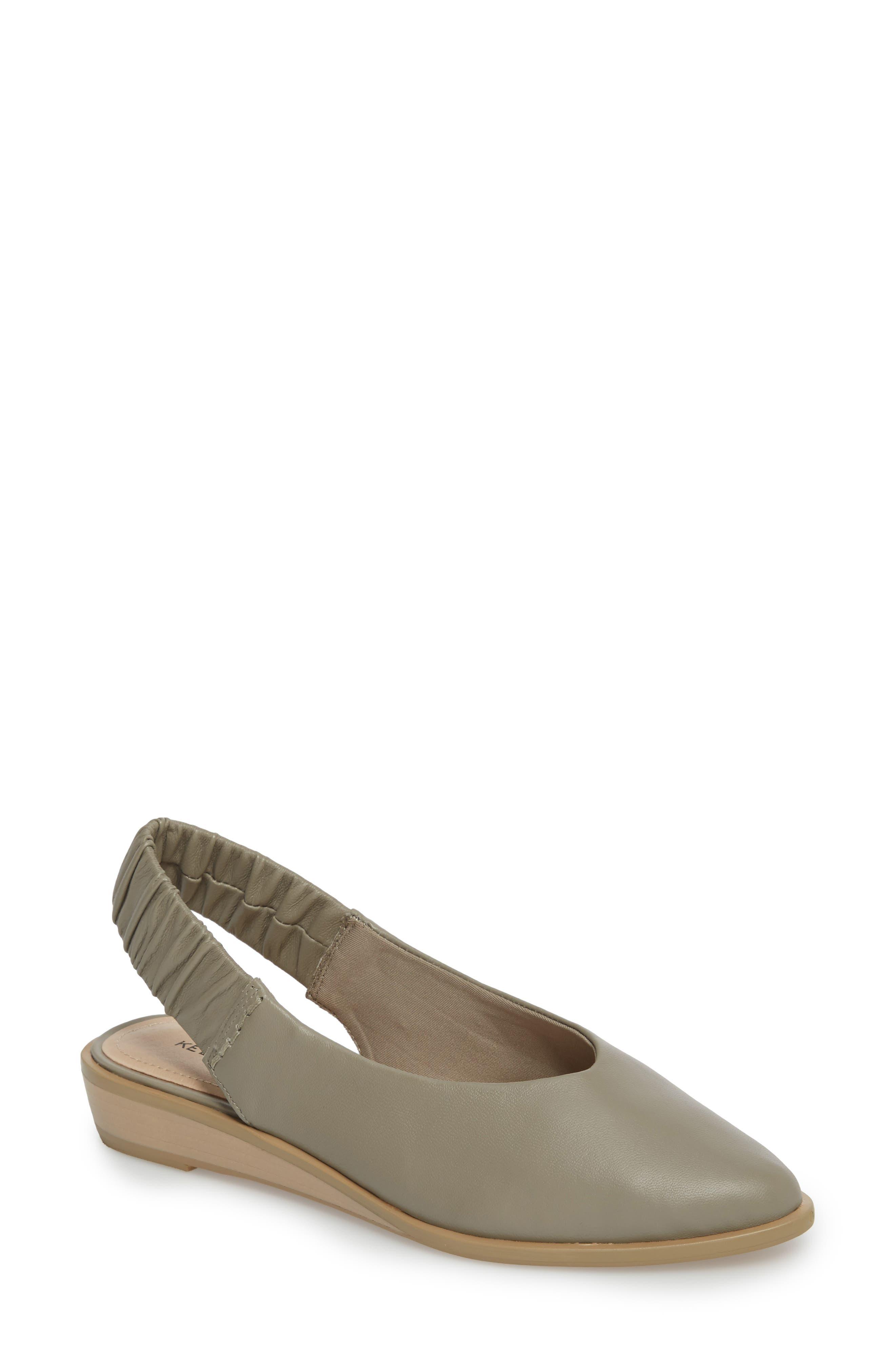 Alton Slingback Sandal,                         Main,                         color, Clove Leather
