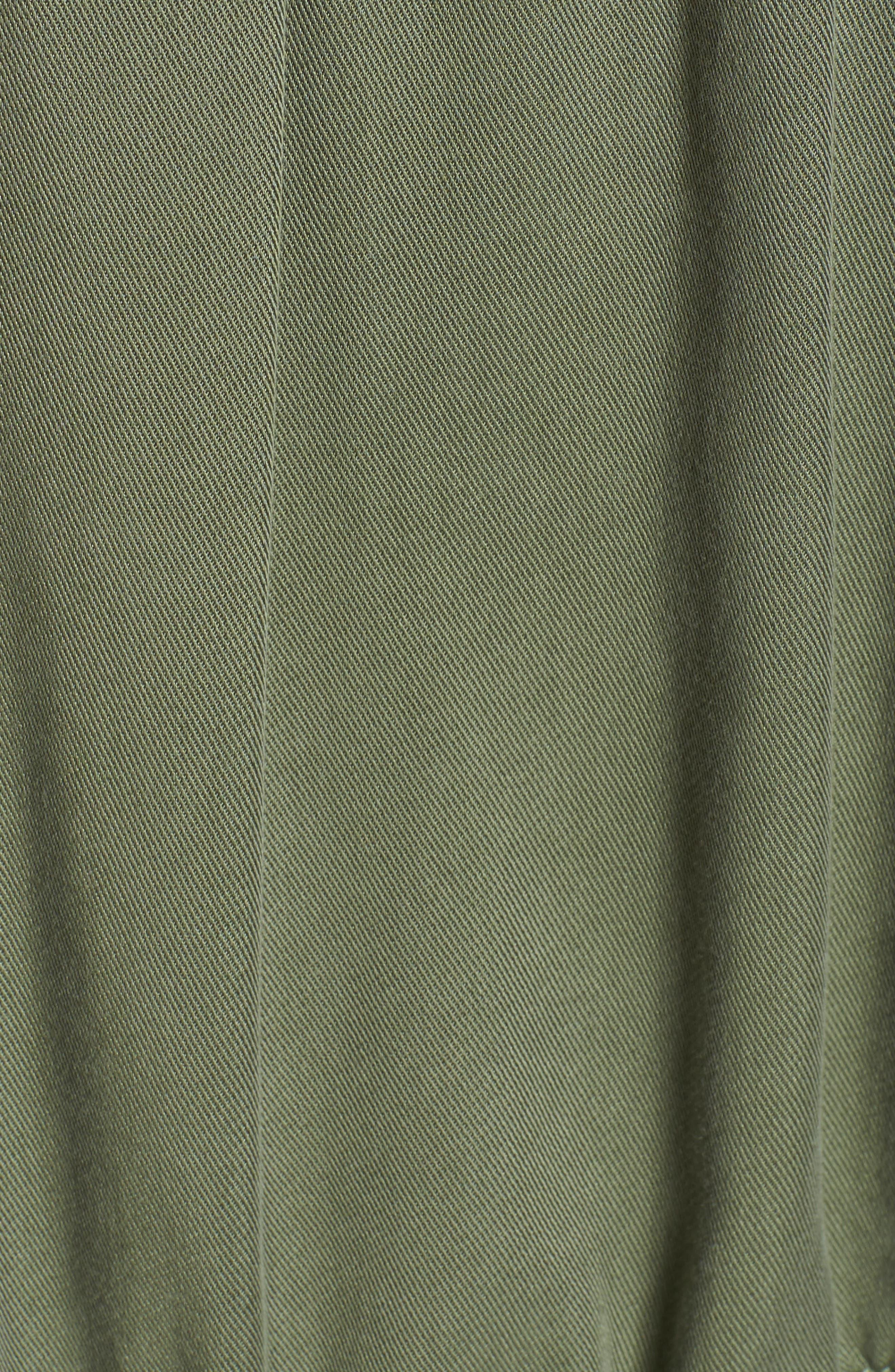 Safari Jacket,                             Alternate thumbnail 6, color,                             Soft Khaki