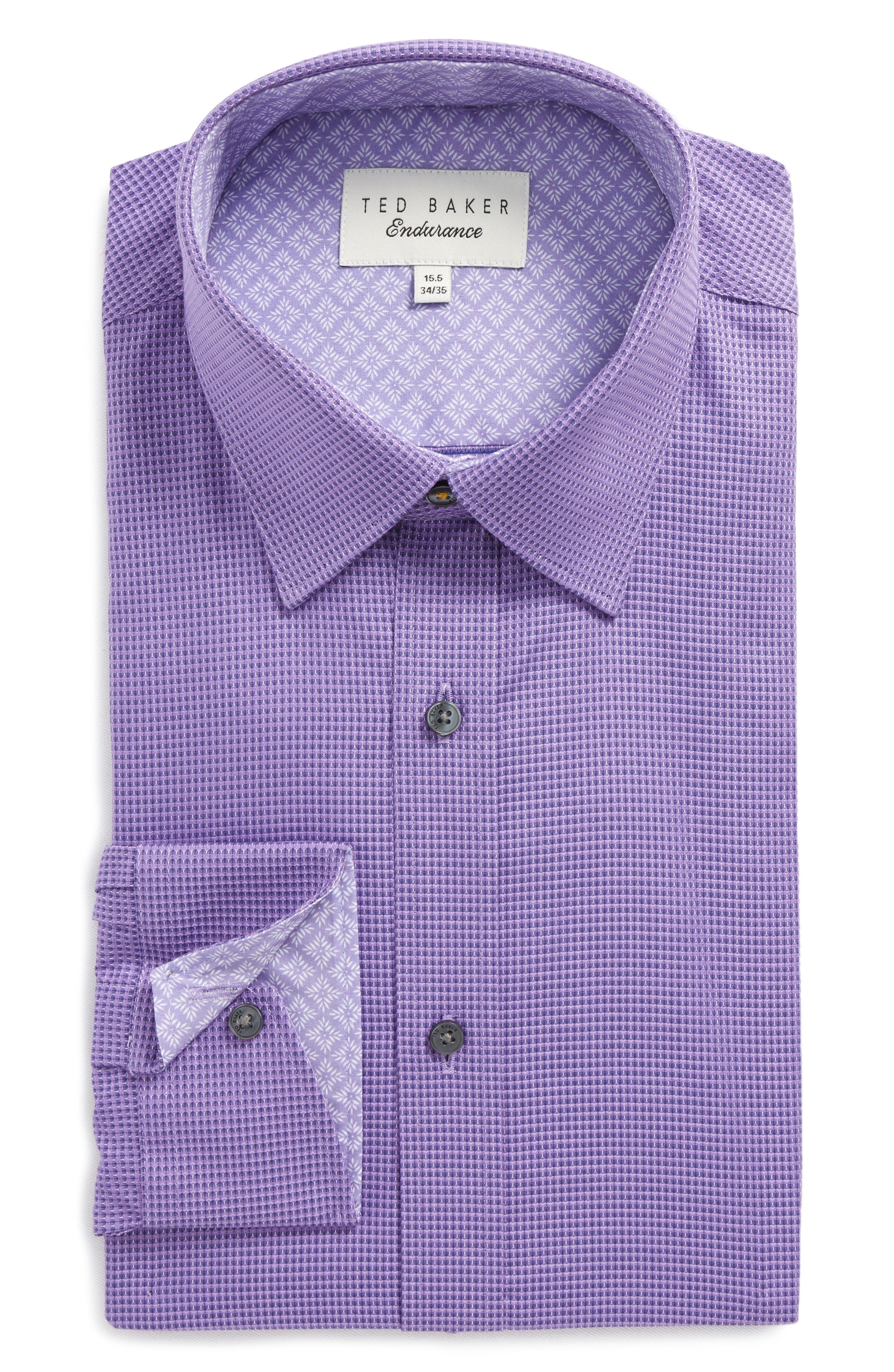 Ted Baker London Endurance Dudders Trim Fit Dress Shirt