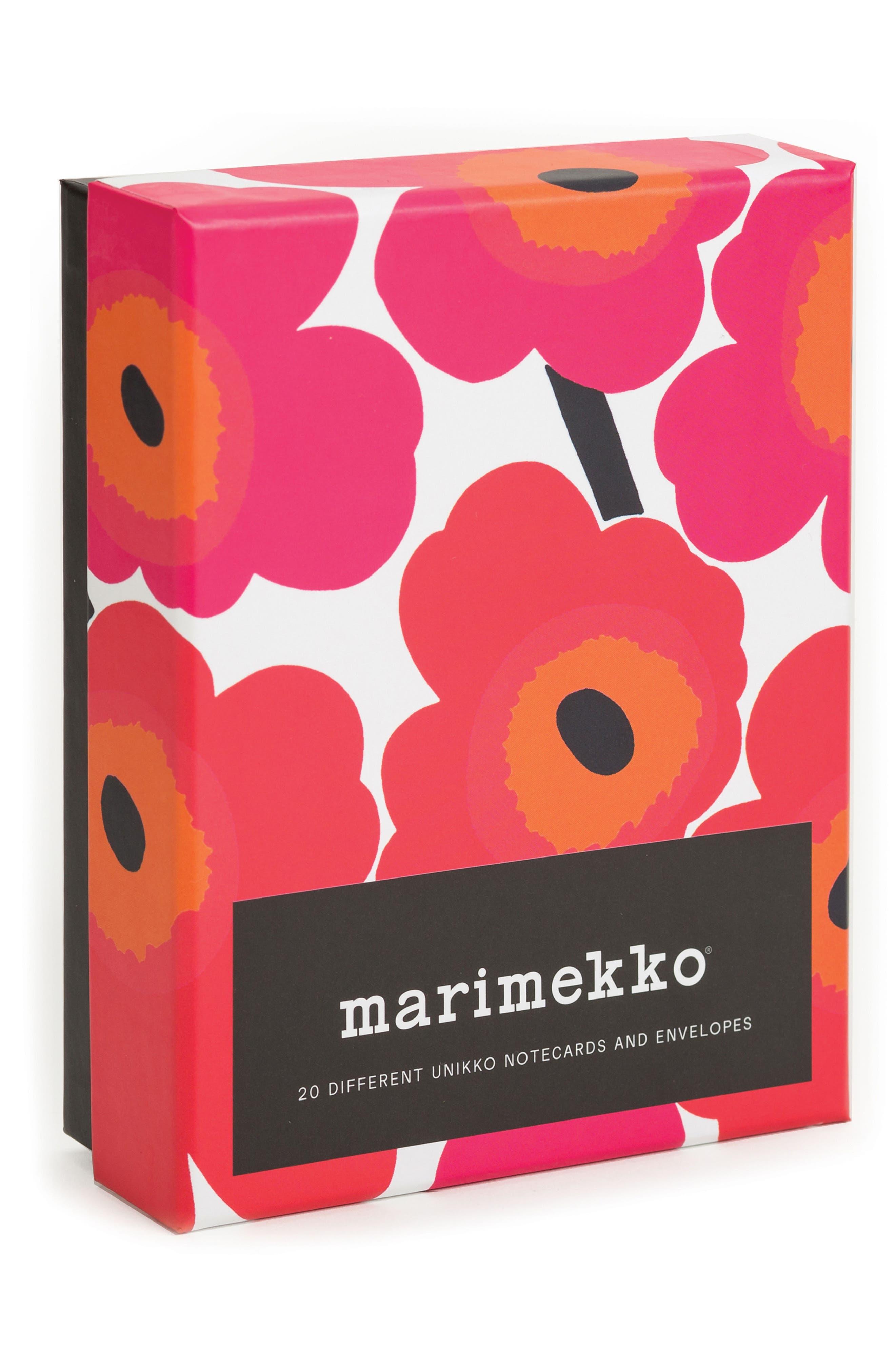 Main Image - Chronicle Books Marimekko 20-Pack Note Cards