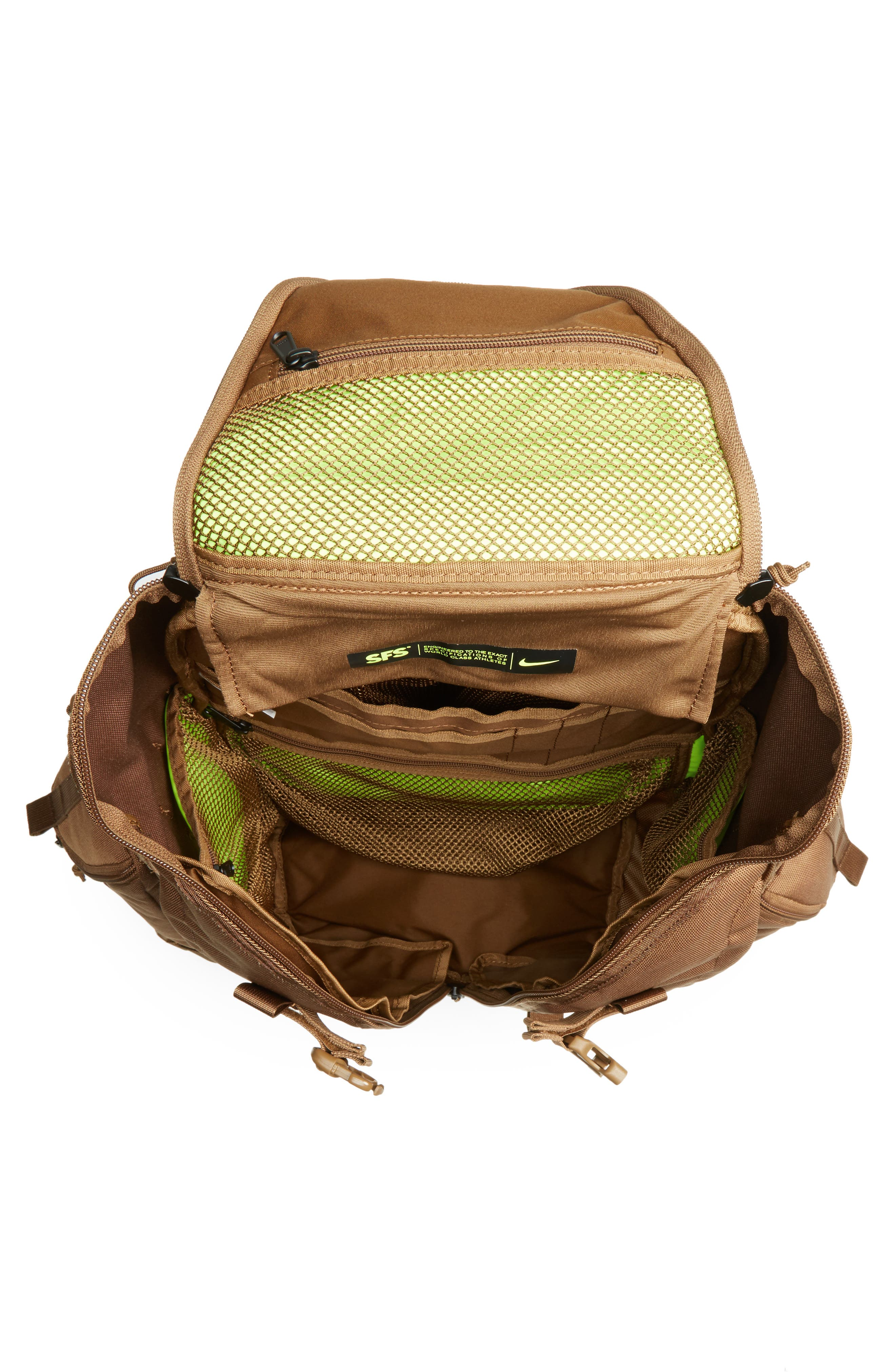 SFS Responder Backpack,                             Alternate thumbnail 5, color,                             Military Brown/ Military Brown