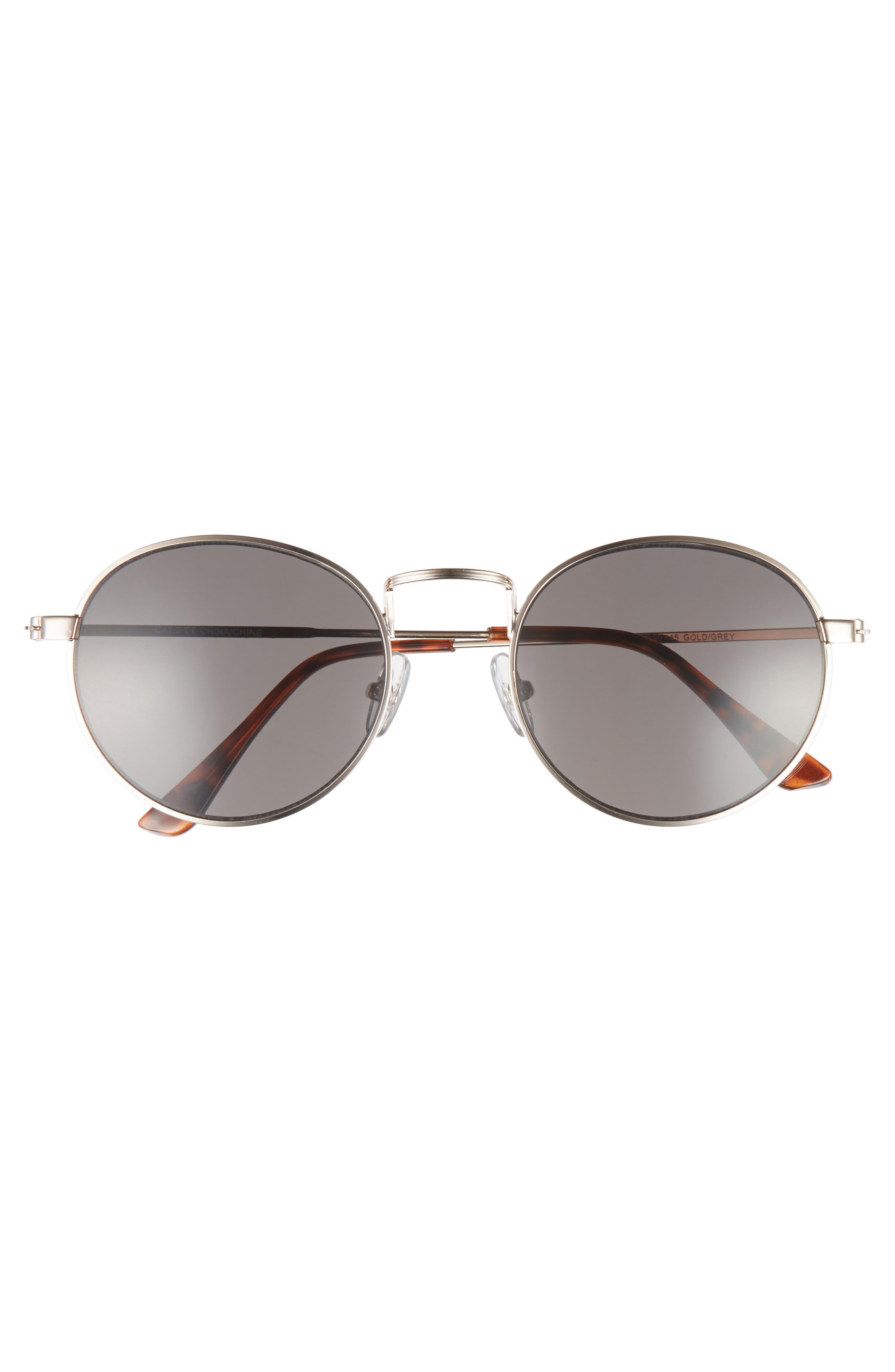 Alternate Image 2  - 1901 Lewis 54mm Round Sunglasses