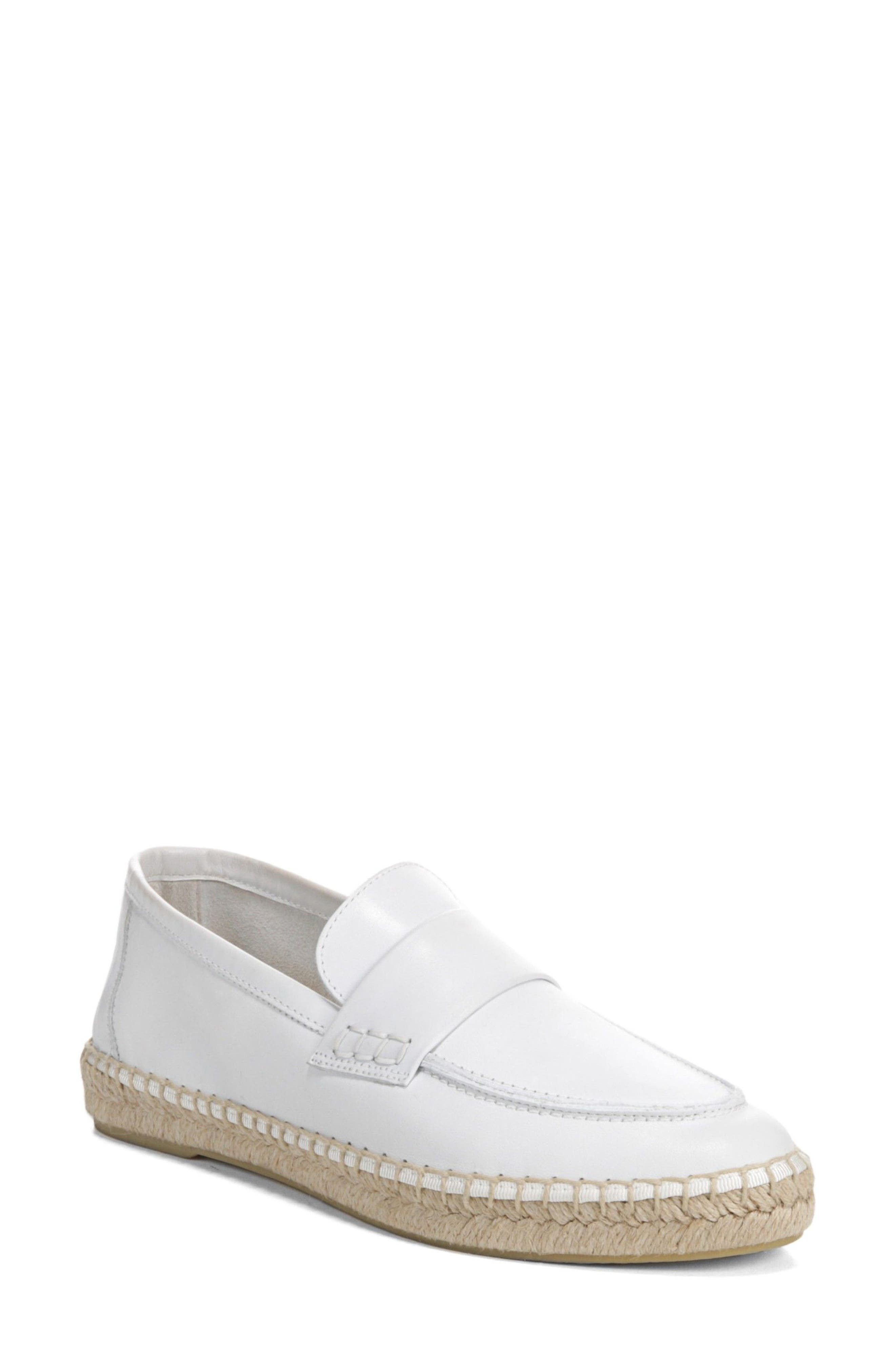 Vince Daria Espadrille Loafer (Women). WHITE LEATHER; BLACK LEATHER;  COASTAL SUEDE. New Markdown