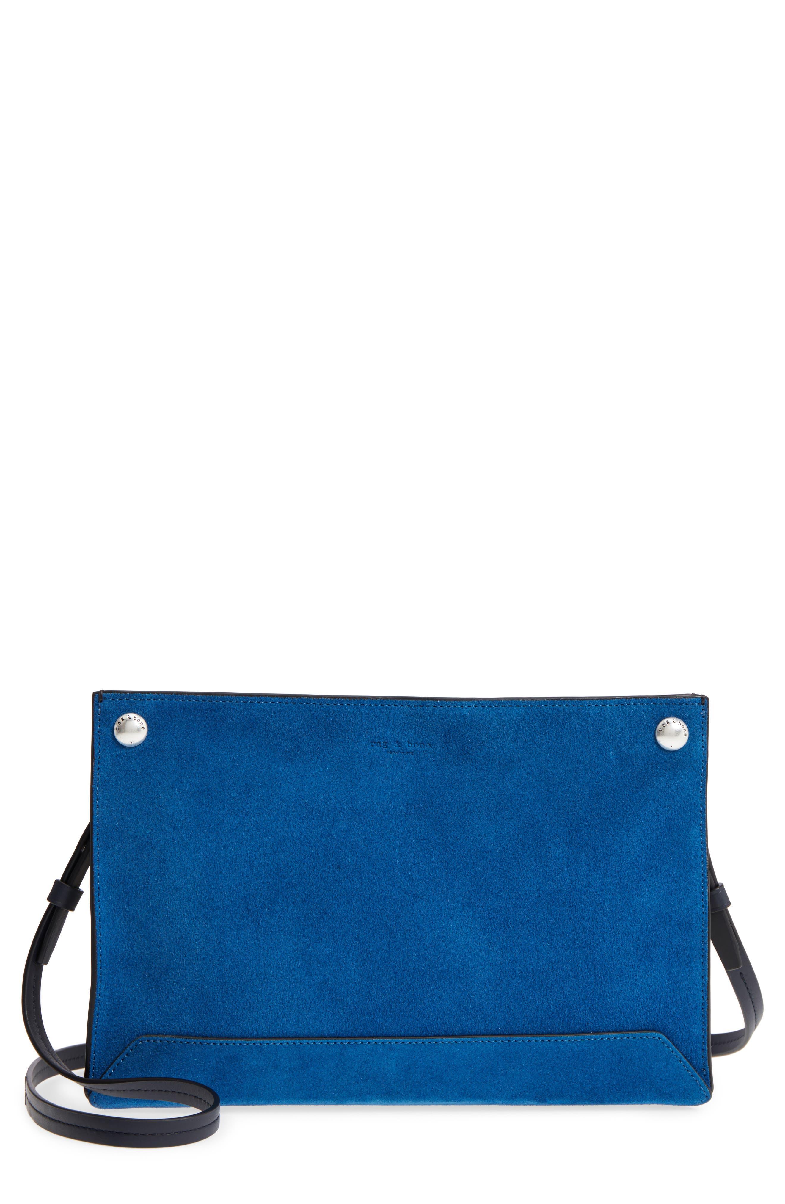 rag & bone Compass Colorblock Leather Crossbody Bag