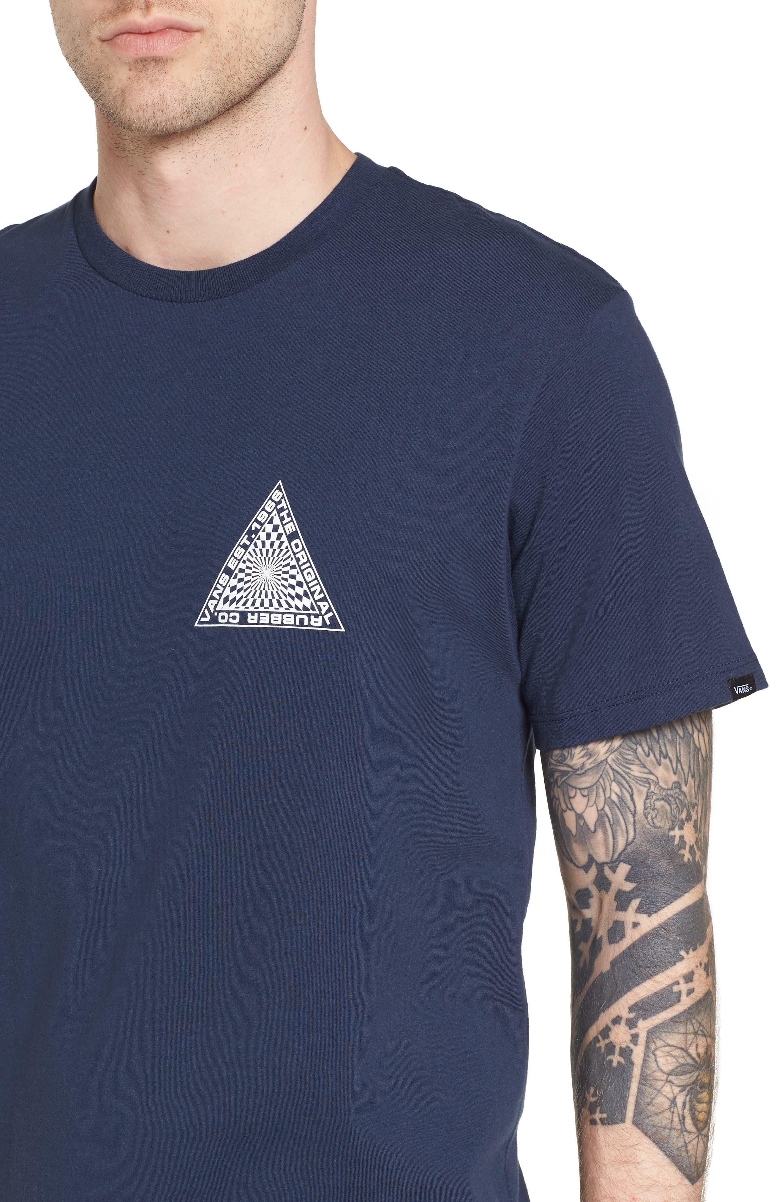 Hypnotics T-Shirt,                             Alternate thumbnail 4, color,                             Dress Blues