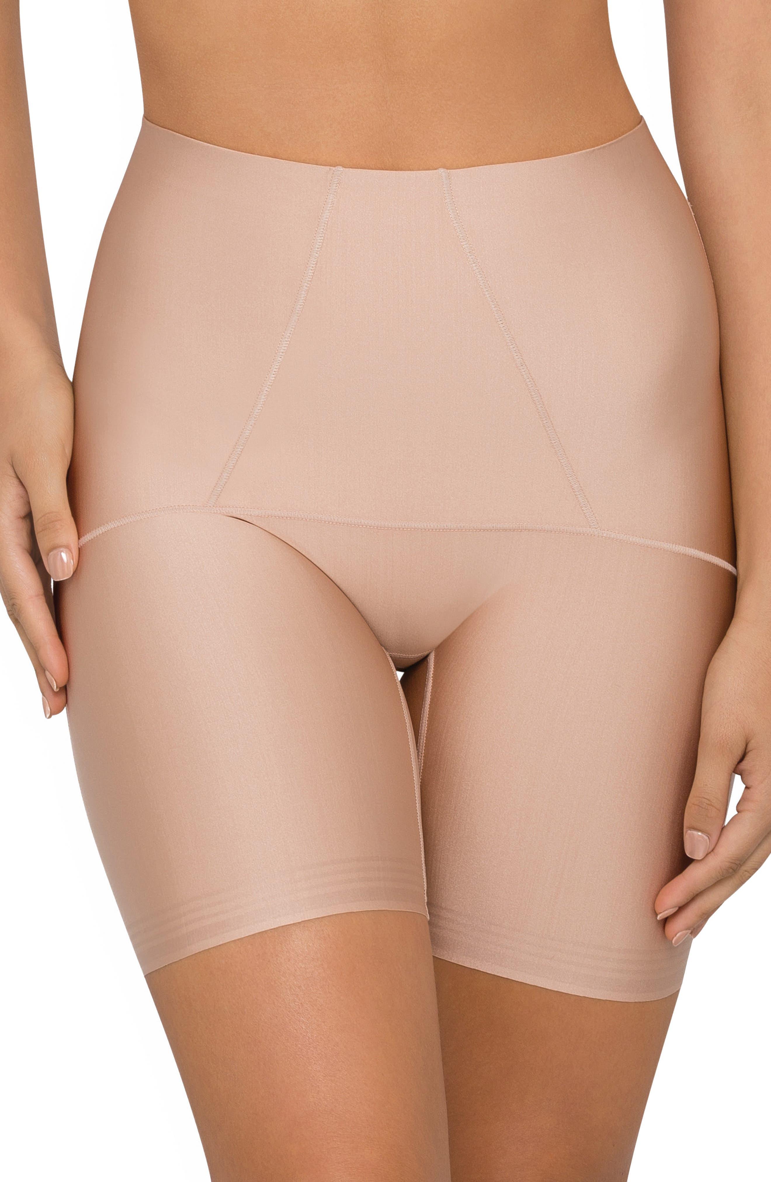 Body Architect High Waist Shaper Shorts,                         Main,                         color, Warm Taupe