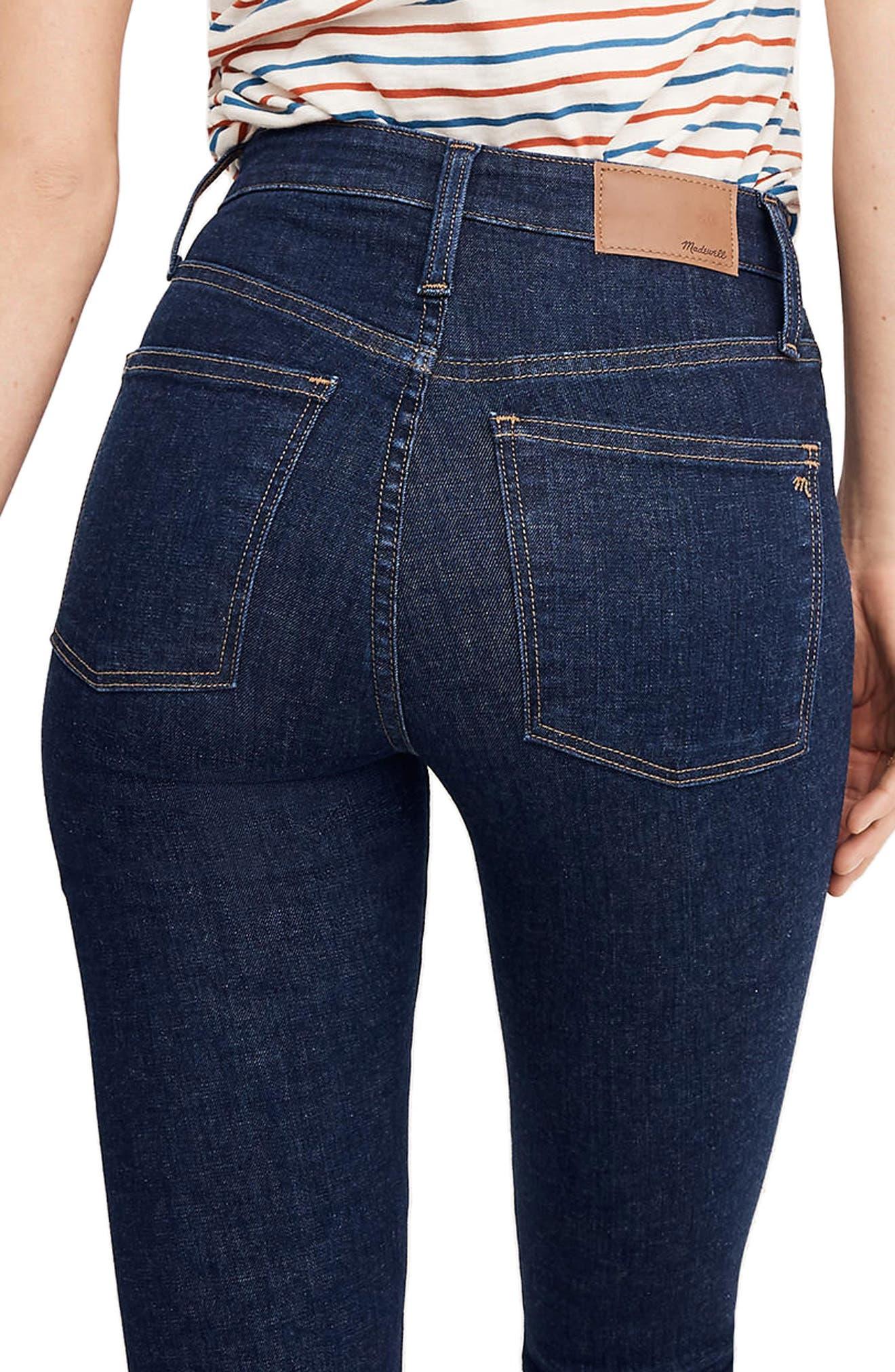 Alternate Image 3  - Madewell Curvy High Waist Skinny Jeans (Lucille)