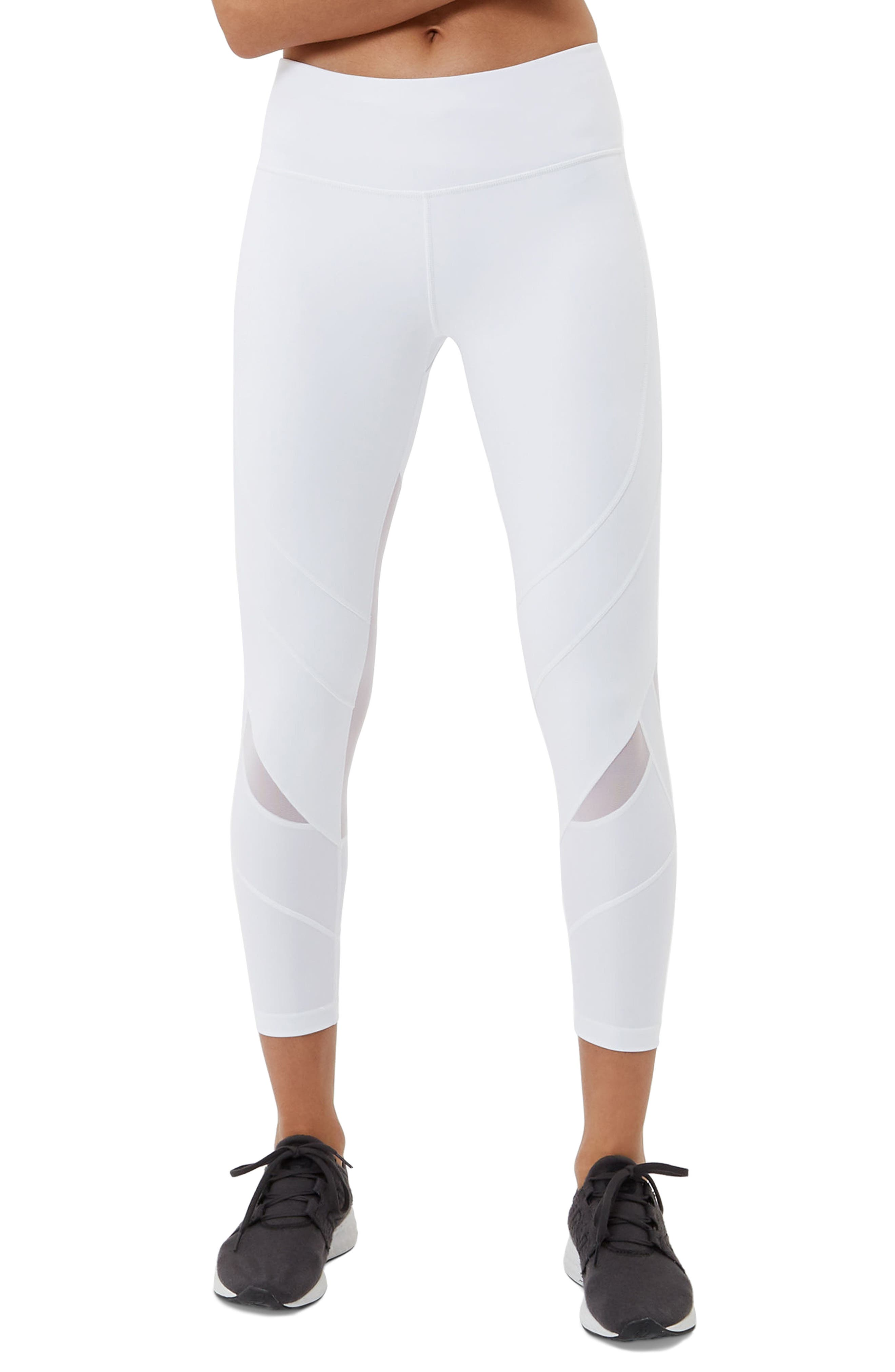 Power Ankle Leggings,                         Main,                         color, White