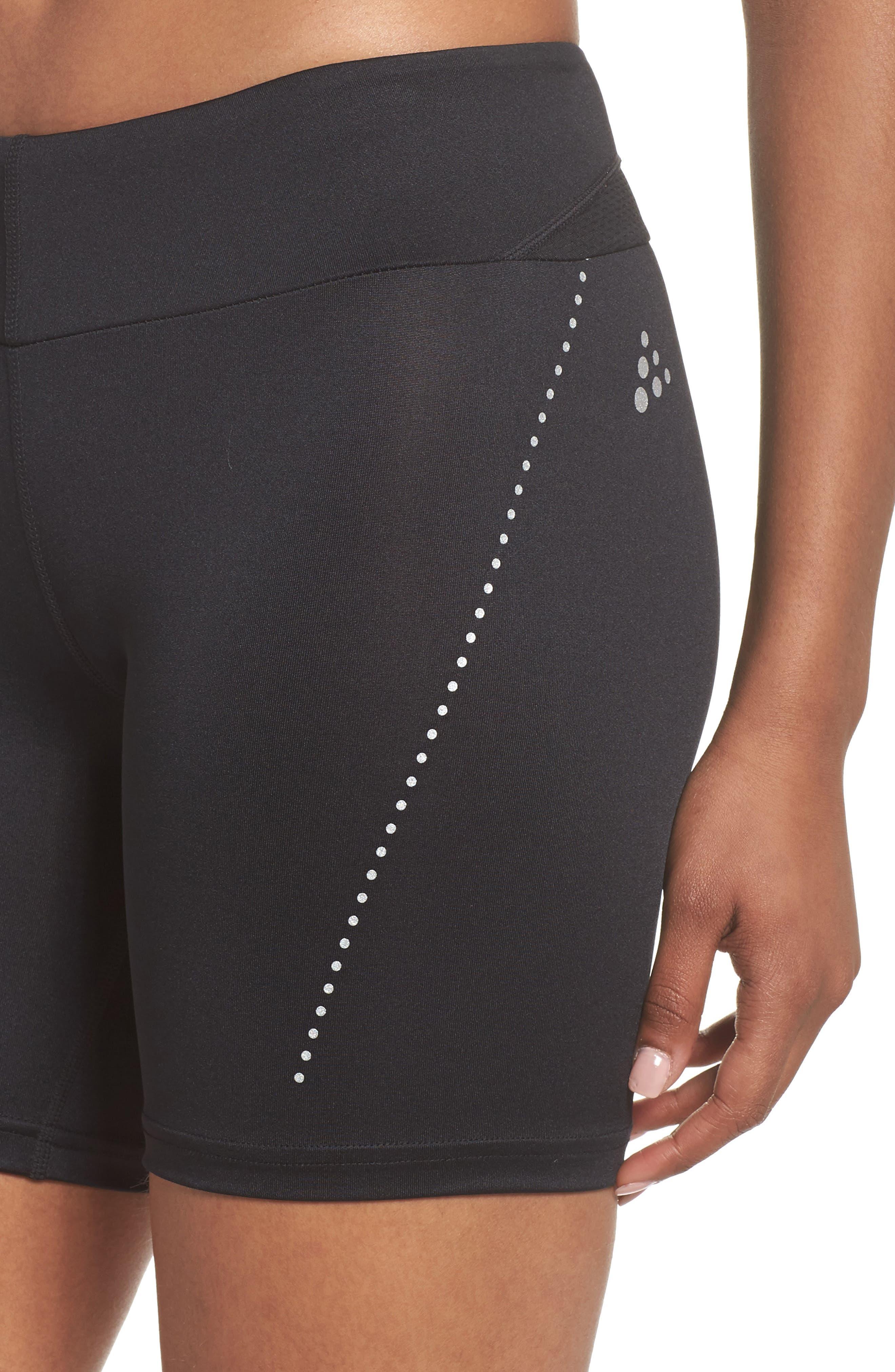 Essential Shorts,                             Alternate thumbnail 4, color,                             Black