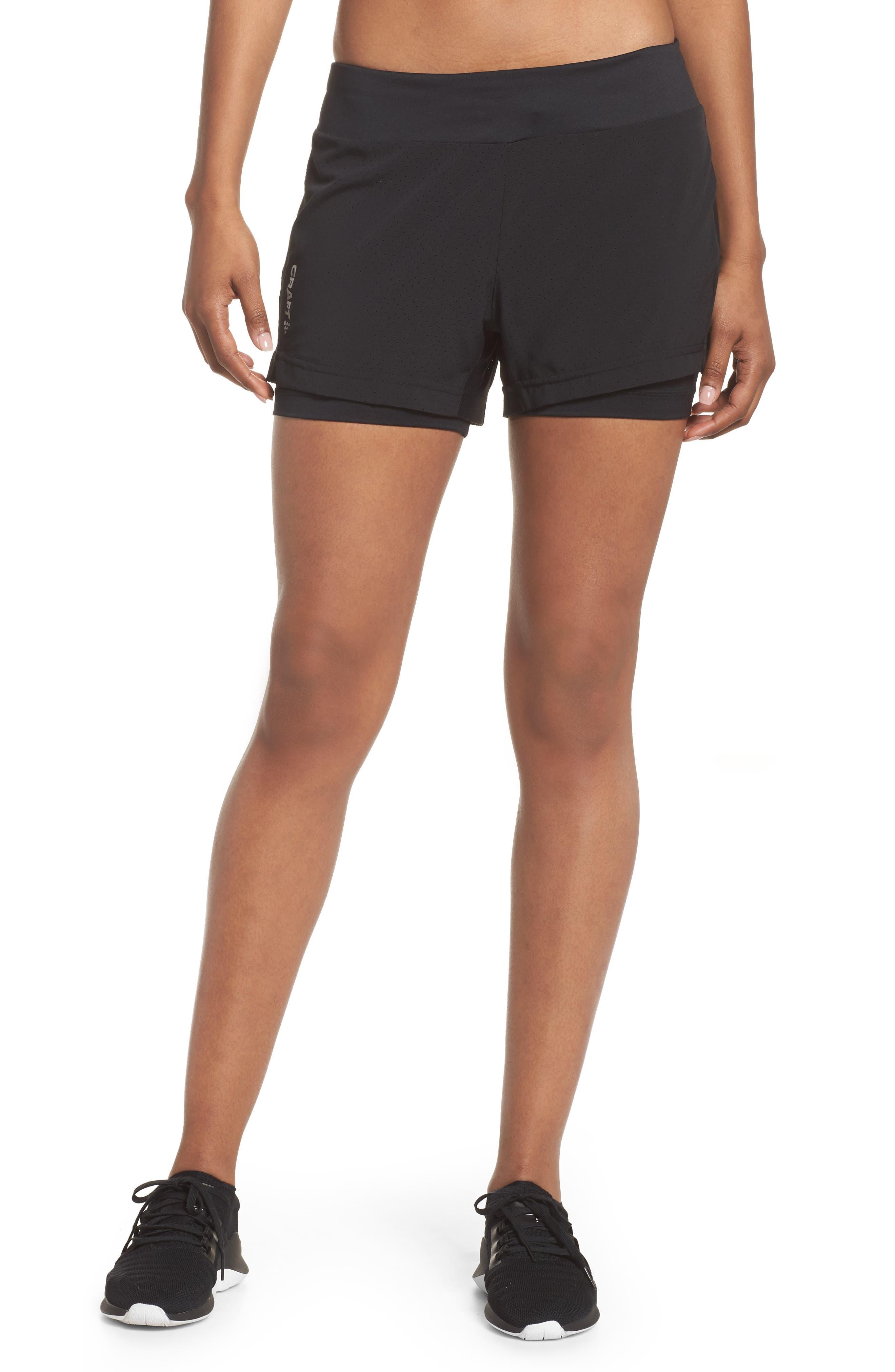 Breakaway 2-in-1 Shorts,                         Main,                         color, Black