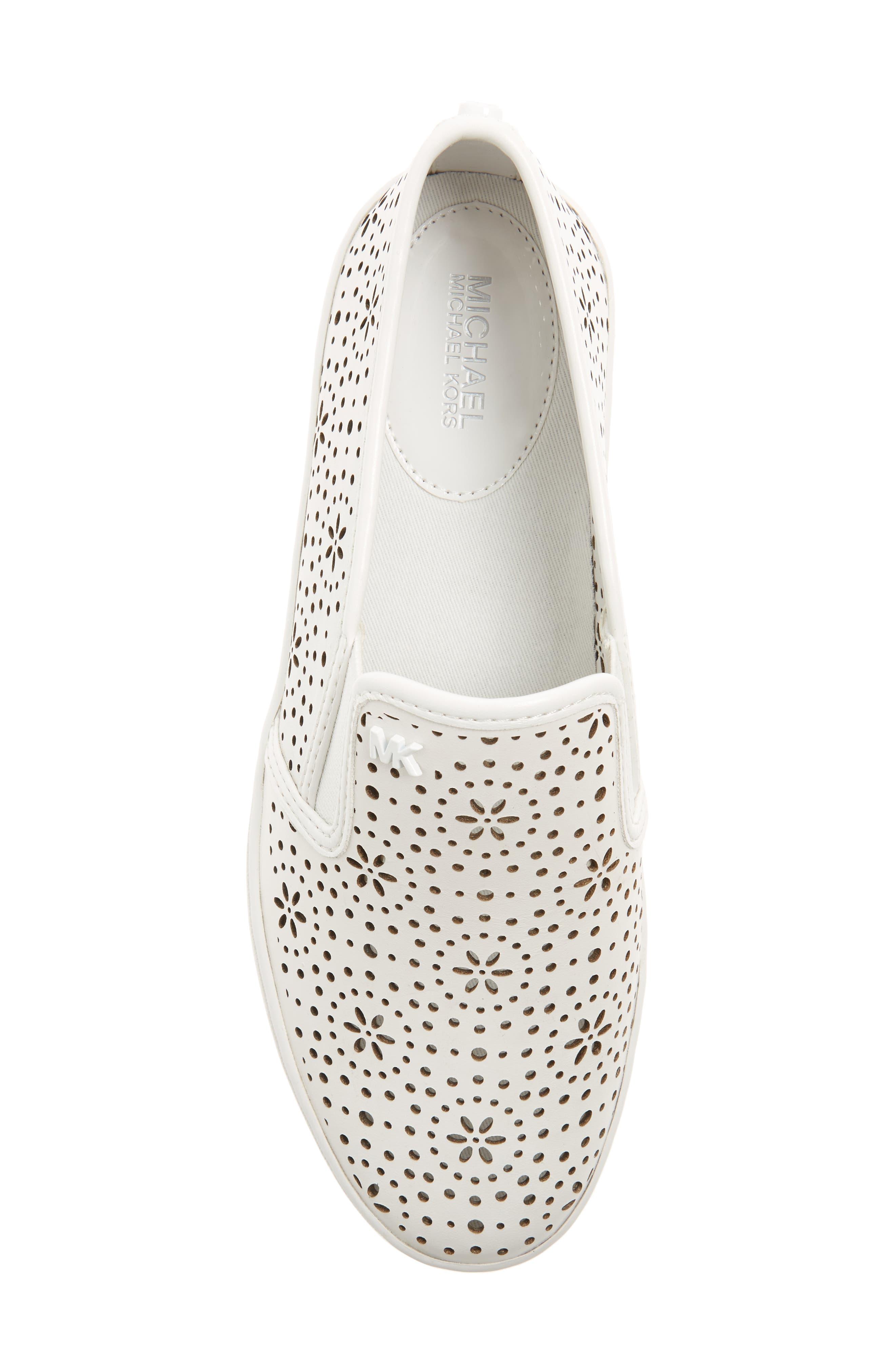 Alternate Image 5  - MICHAEL Michael Kors Trent Slip-On Sneaker (Women)