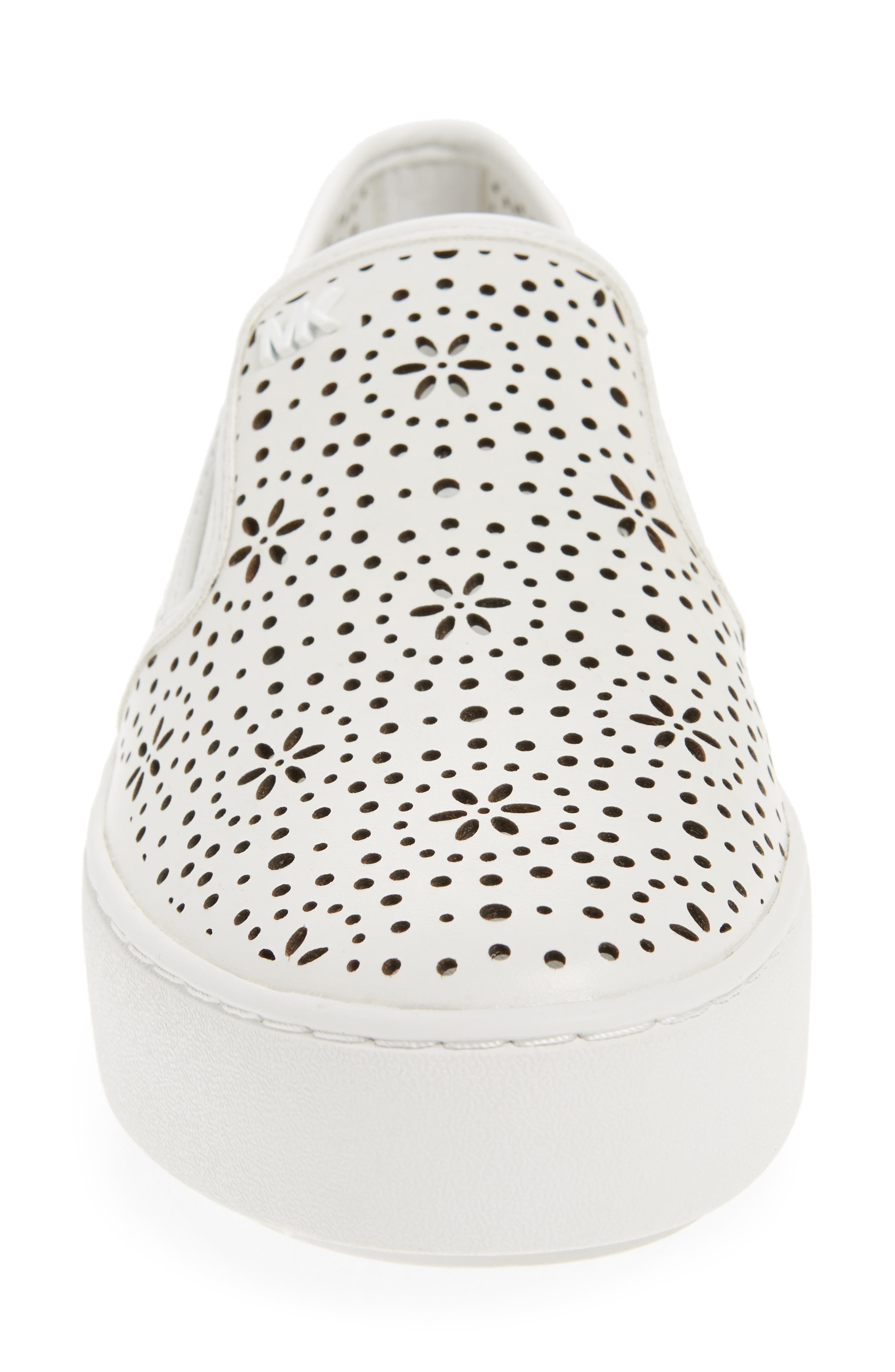 Alternate Image 4  - MICHAEL Michael Kors Trent Slip-On Sneaker (Women)