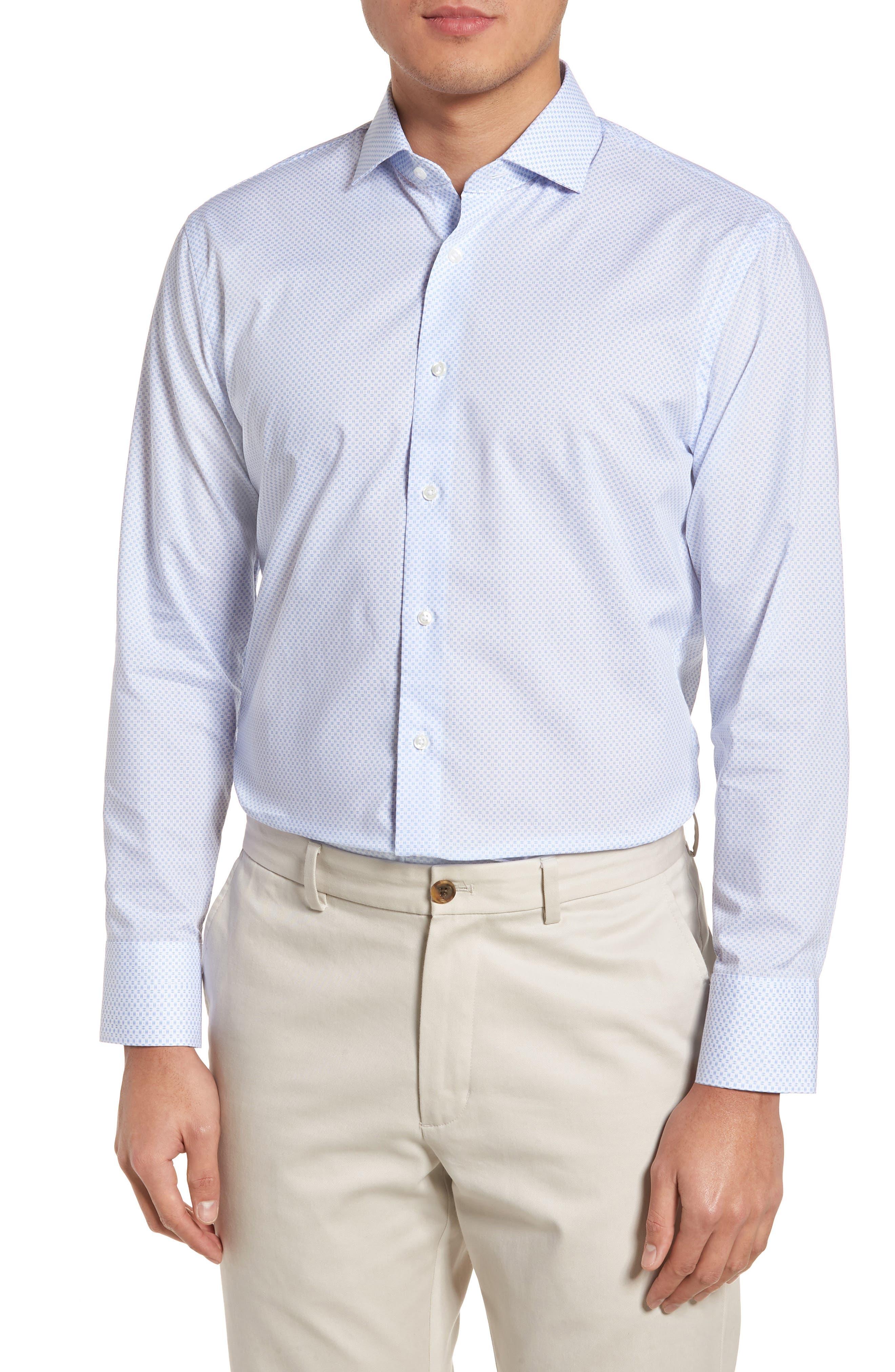 Alternate Image 1 Selected - Nordstrom Men's Shop Trim Fit Dress Shirt