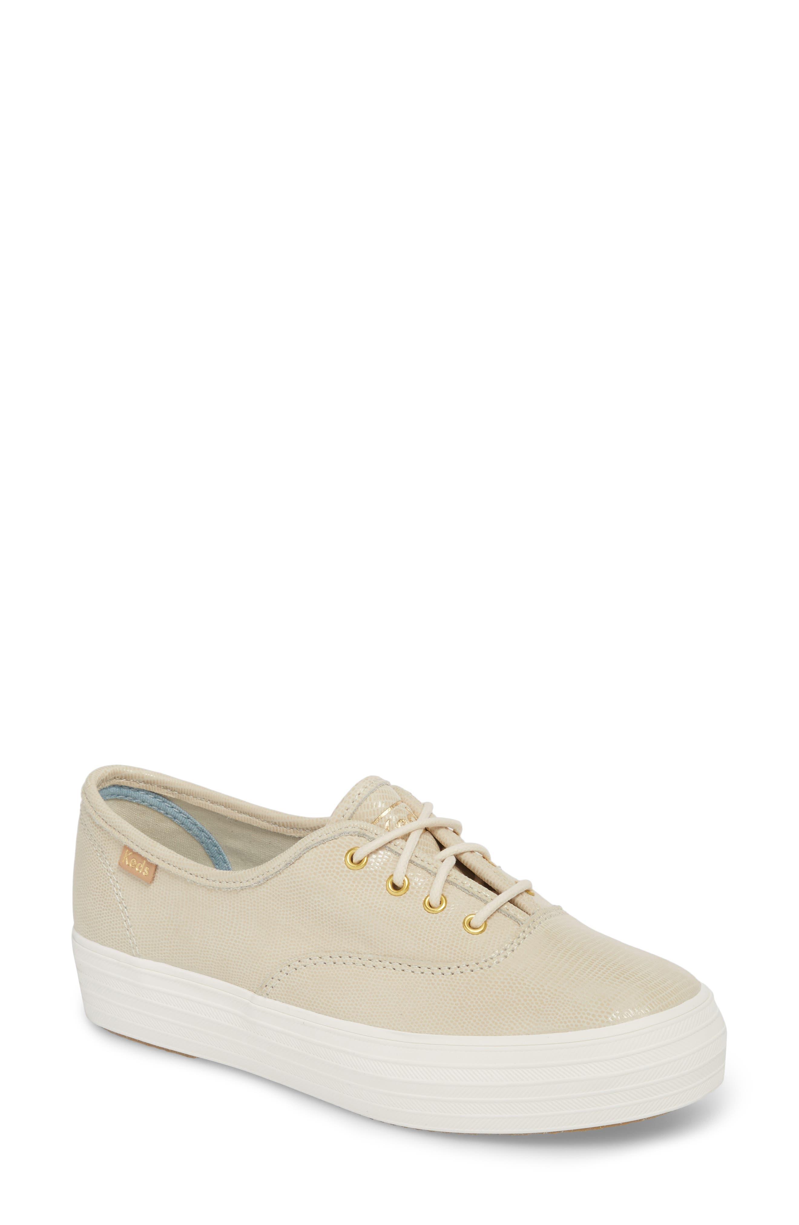 Alternate Image 1 Selected - Keds® Triple Decker Platform Sneaker (Women)
