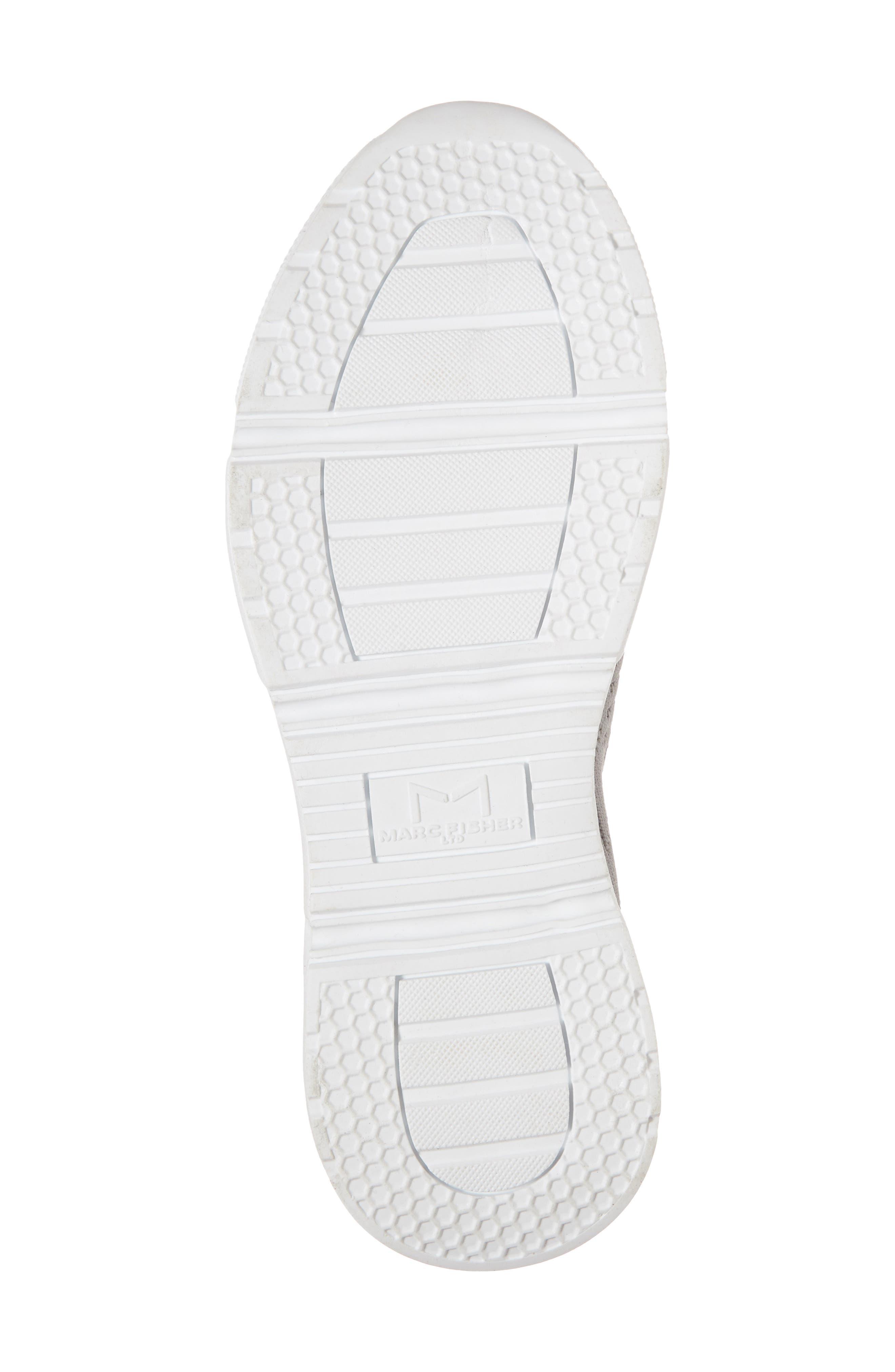 Karrie Slip-On Sneaker,                             Alternate thumbnail 6, color,                             Grey Stretch Fabric