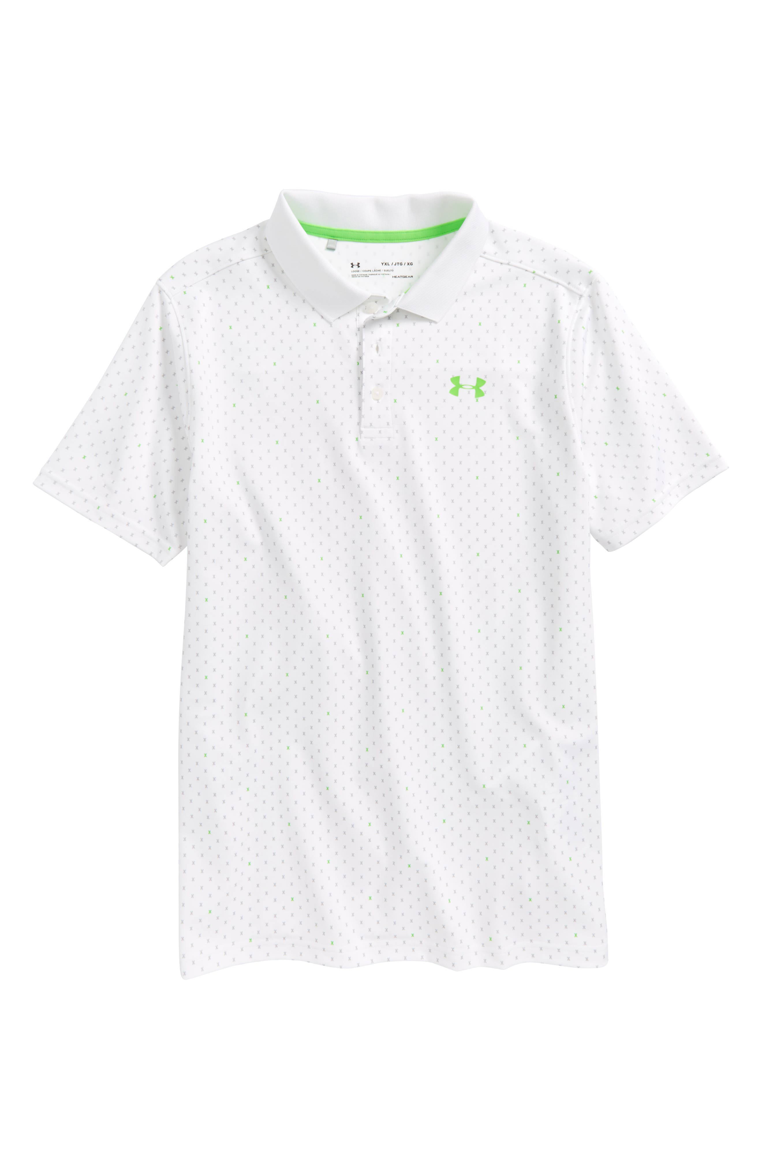 Under Armour HeatGear® Polo (Big Boys)