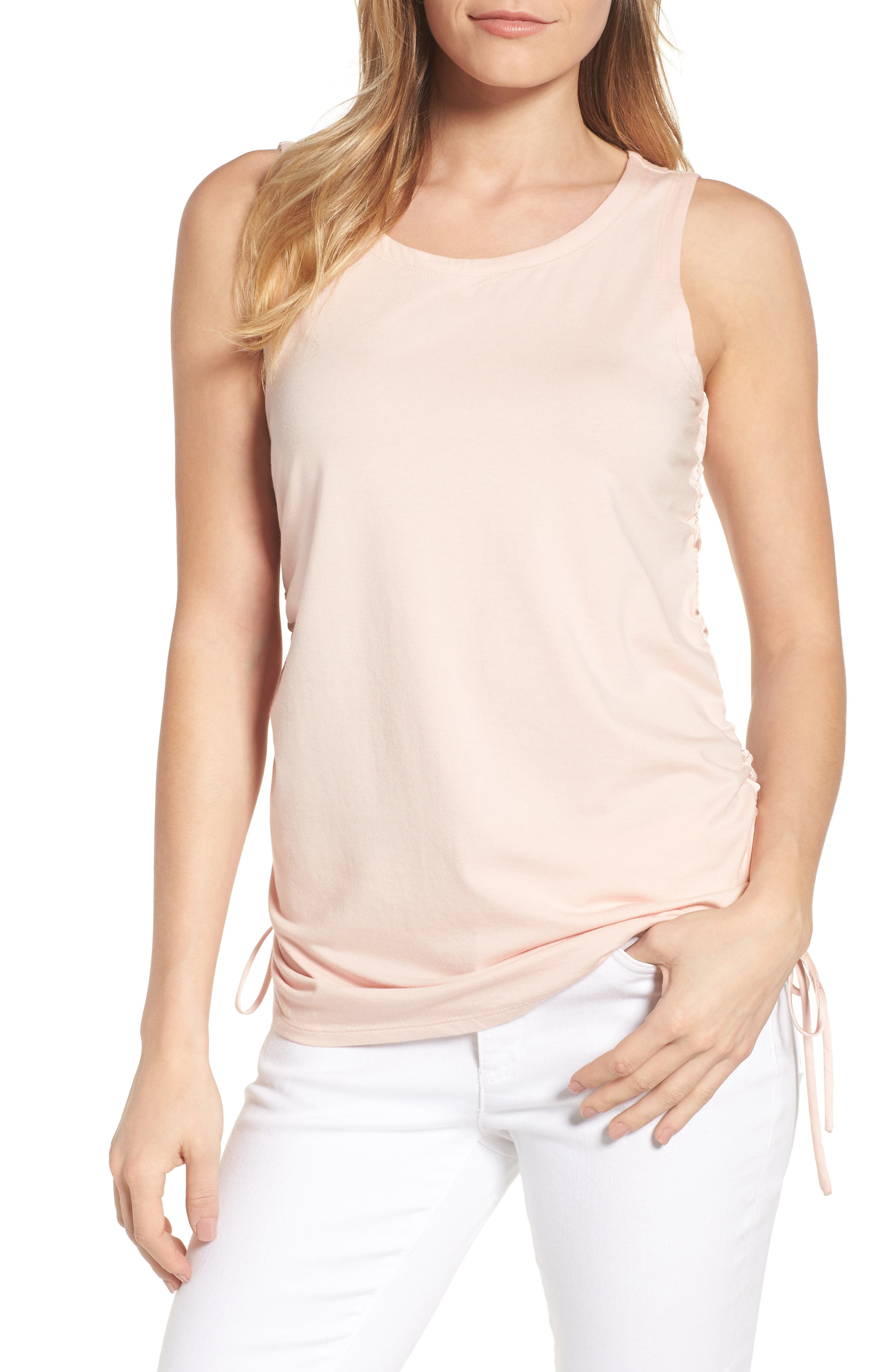 Kenneth Cole New York Cinched Drawstring Tank