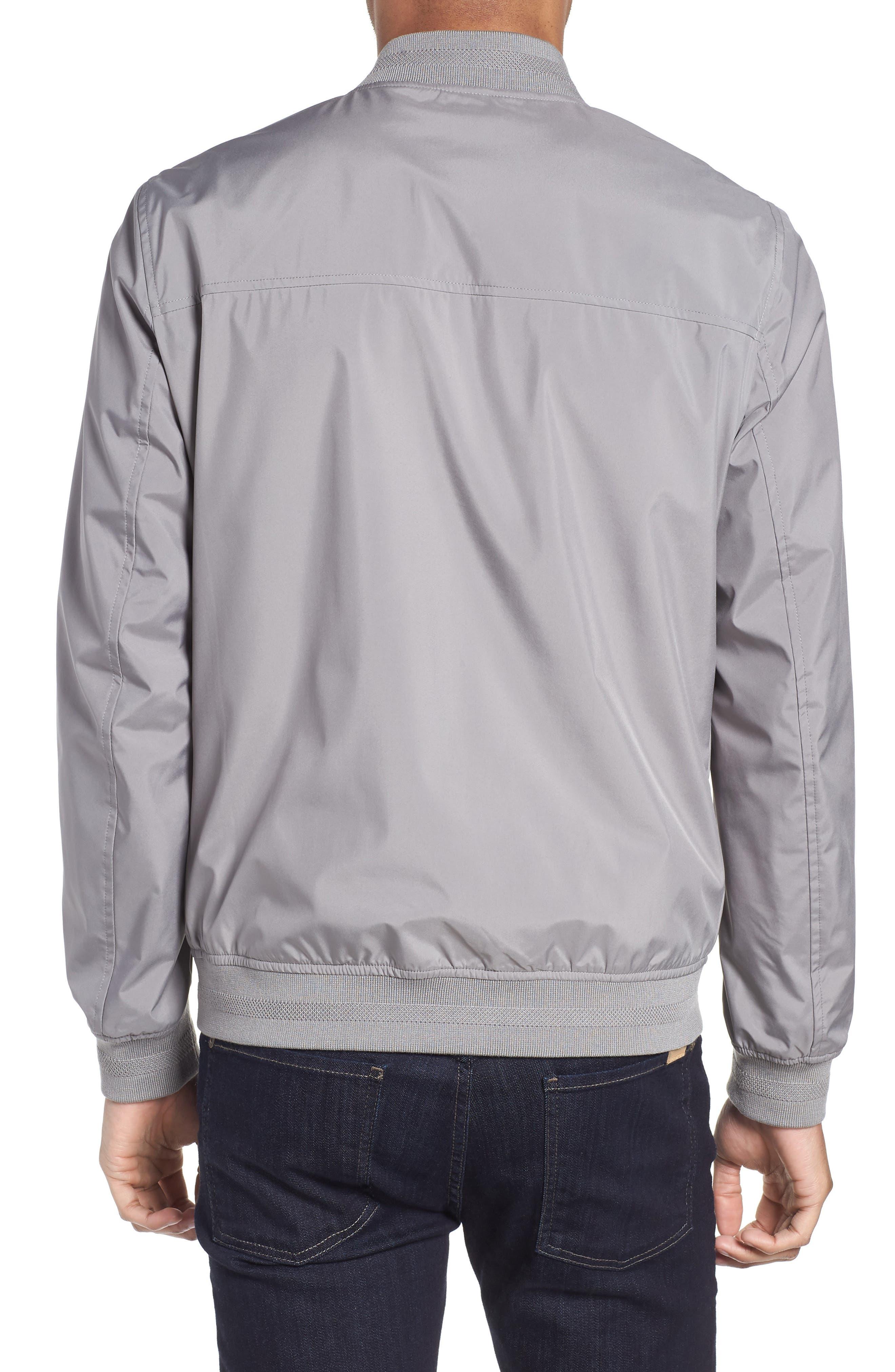 Ohtatt Bomber Jacket,                             Alternate thumbnail 2, color,                             Grey