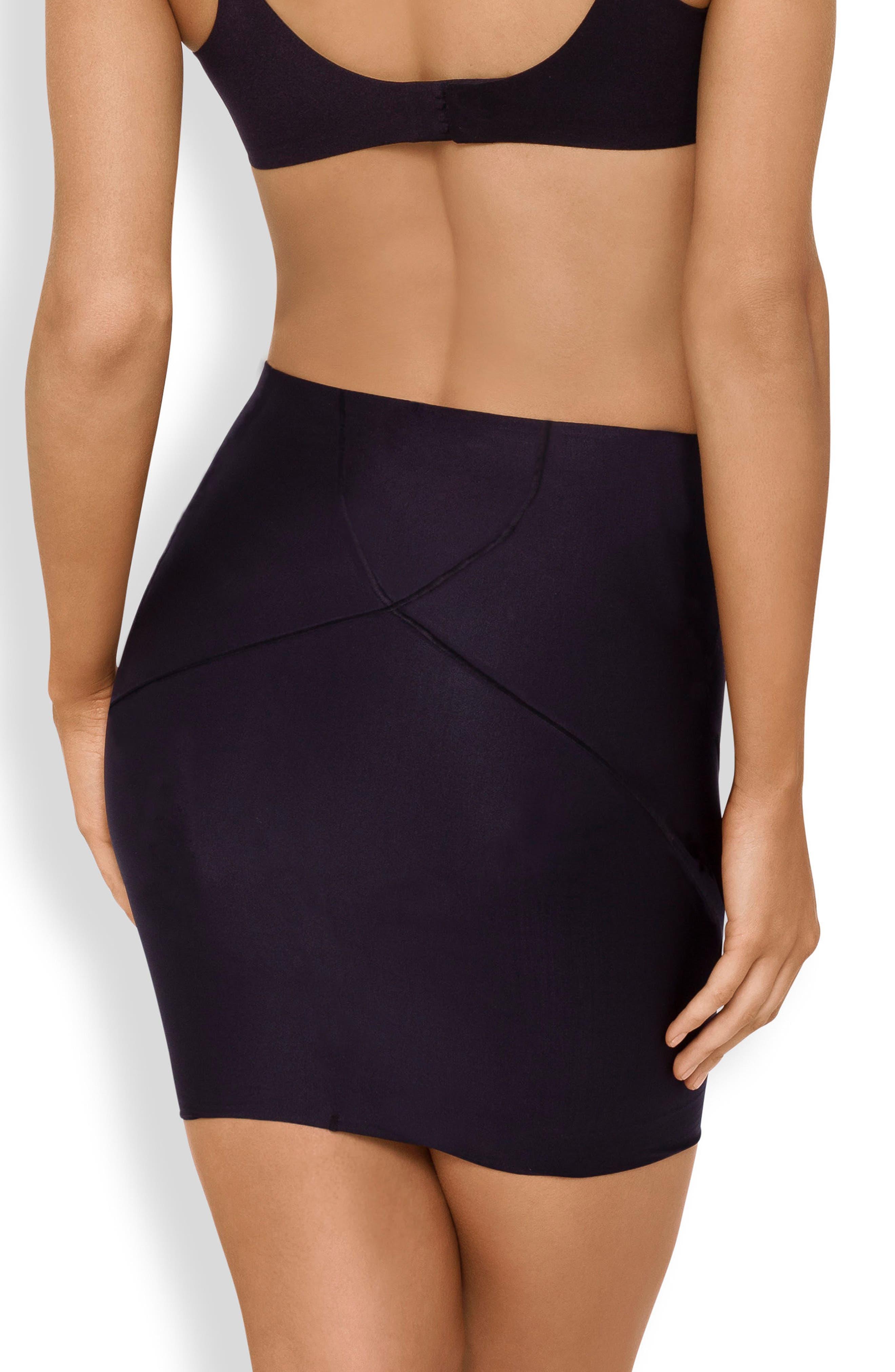 Body Architect Shaper Slip Skirt,                             Alternate thumbnail 2, color,                             Black