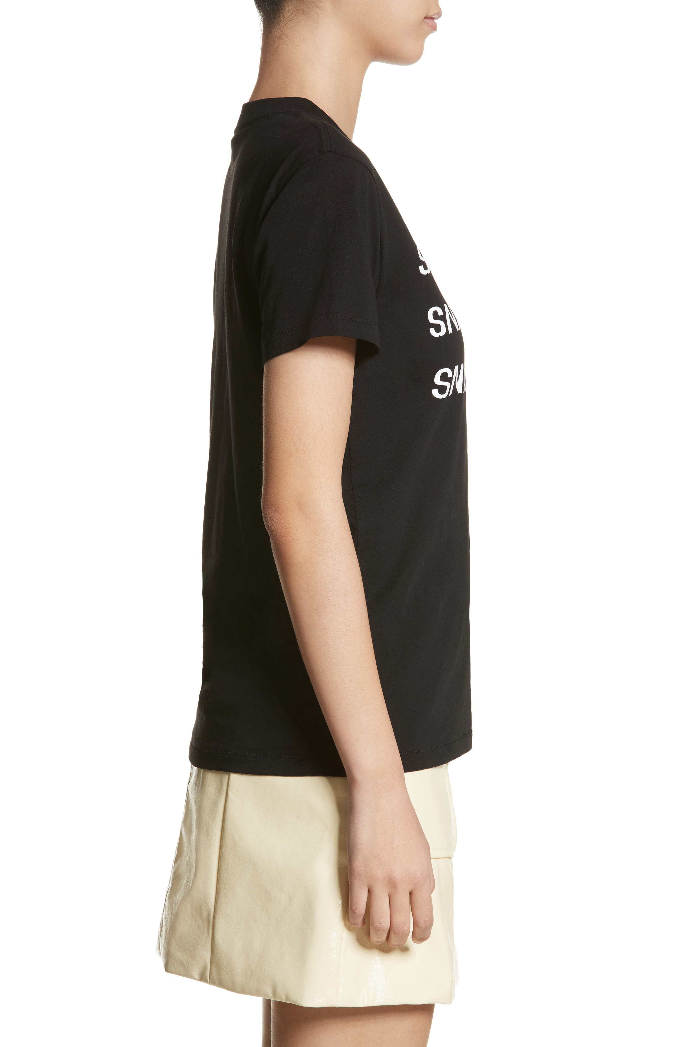 Harway Snack Attack Tee,                             Alternate thumbnail 3, color,                             Black