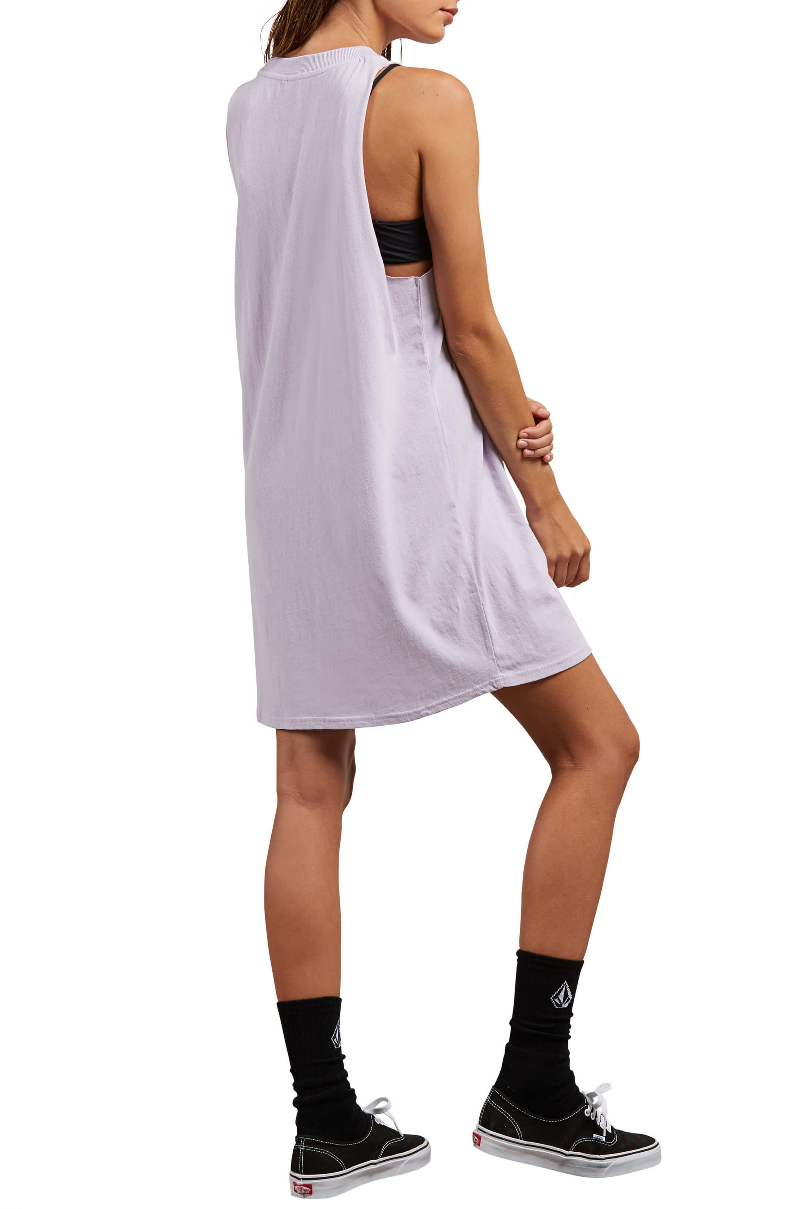 Day by Day Tank Dress,                             Alternate thumbnail 3, color,                             Lavender