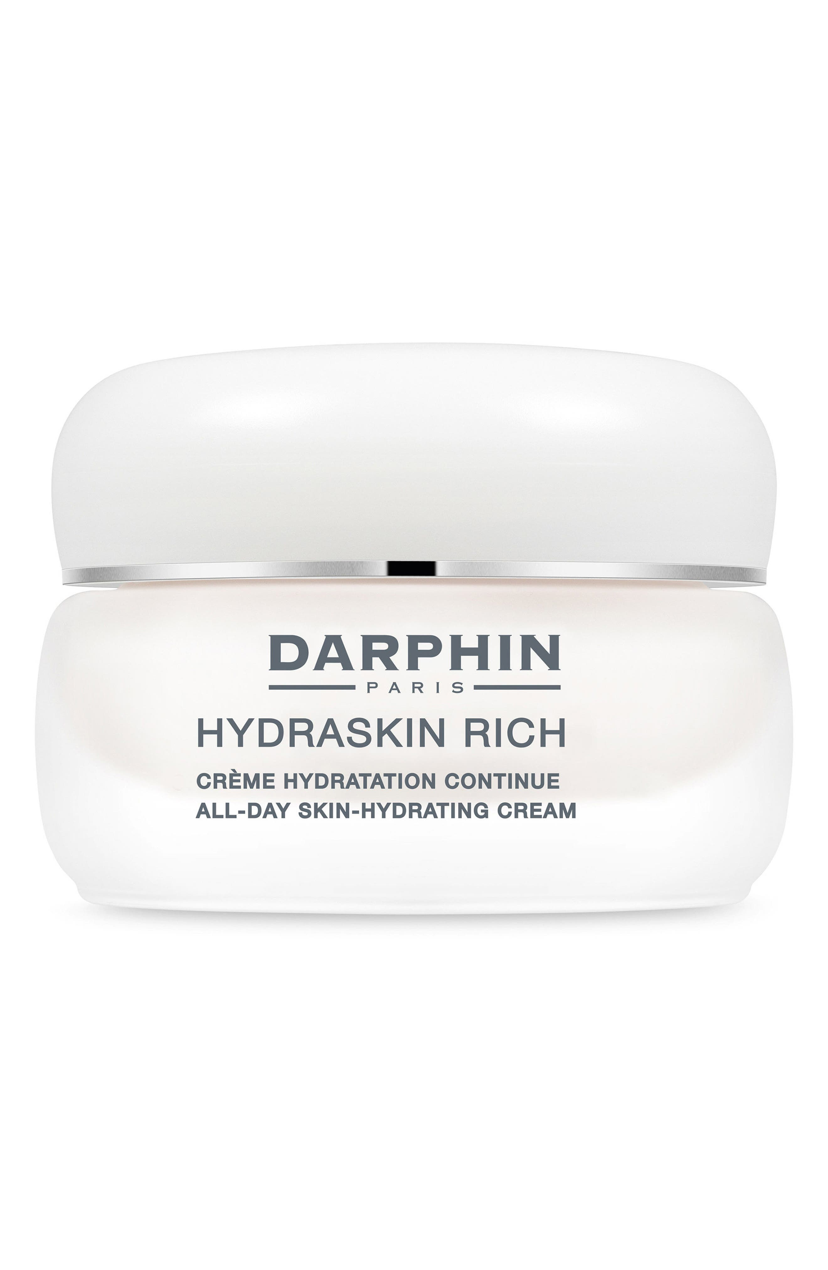 Hydraskin Rich All-Day Skin Hydrating Cream,                         Main,                         color, No Color