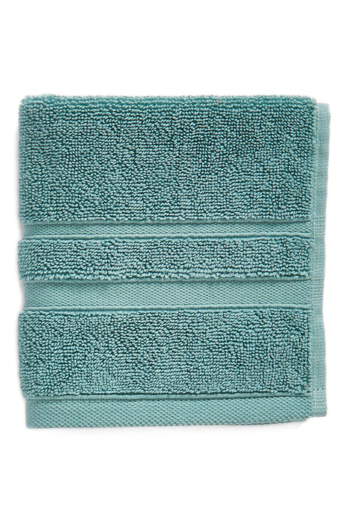 Main Image - Waterworks Studio 'Perennial' Combed Turkish Cotton Washcloth (Online Only)