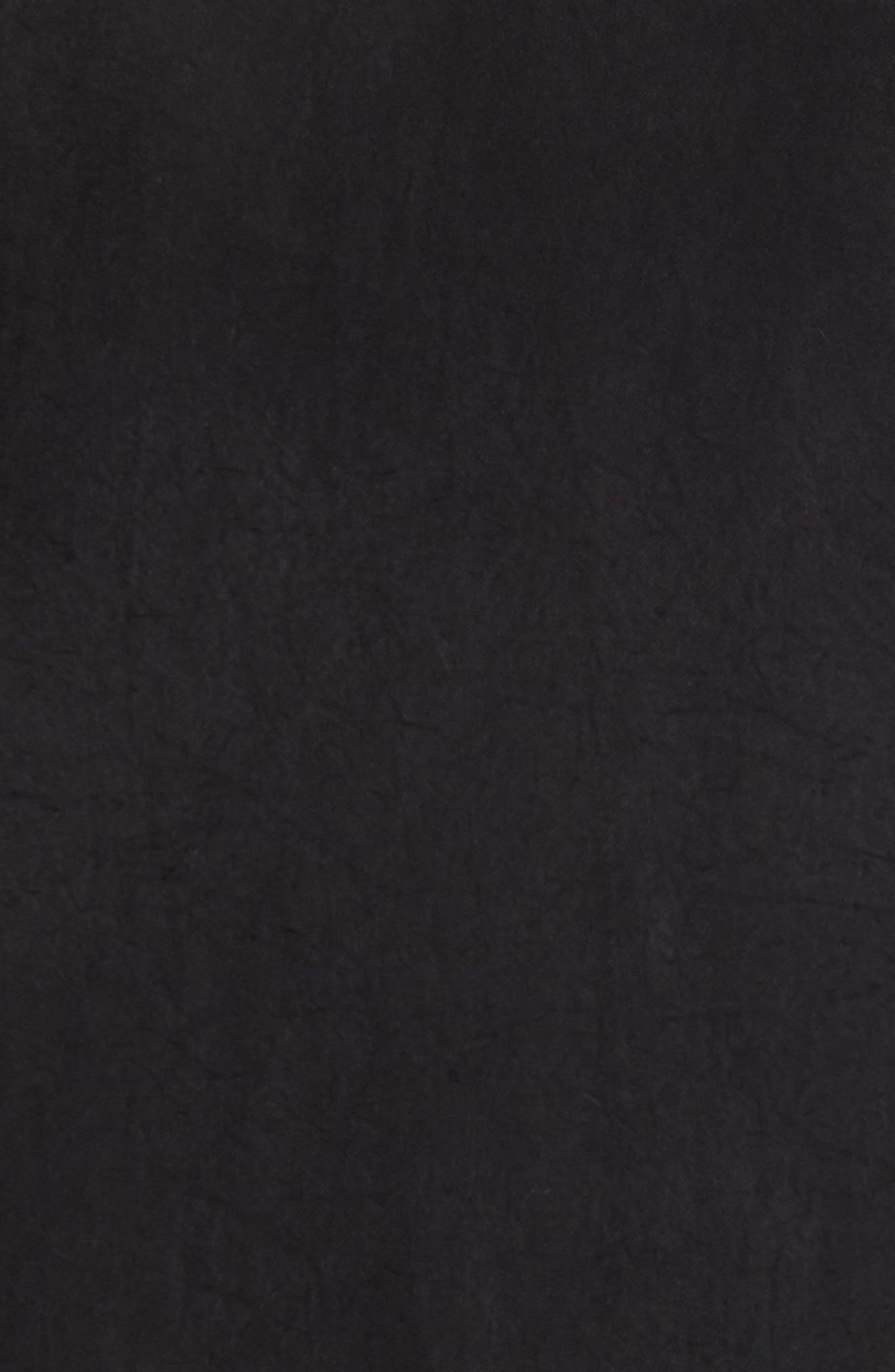 Colorblock Bomber Jacket,                             Alternate thumbnail 5, color,                             Black/ Mechanic Blue