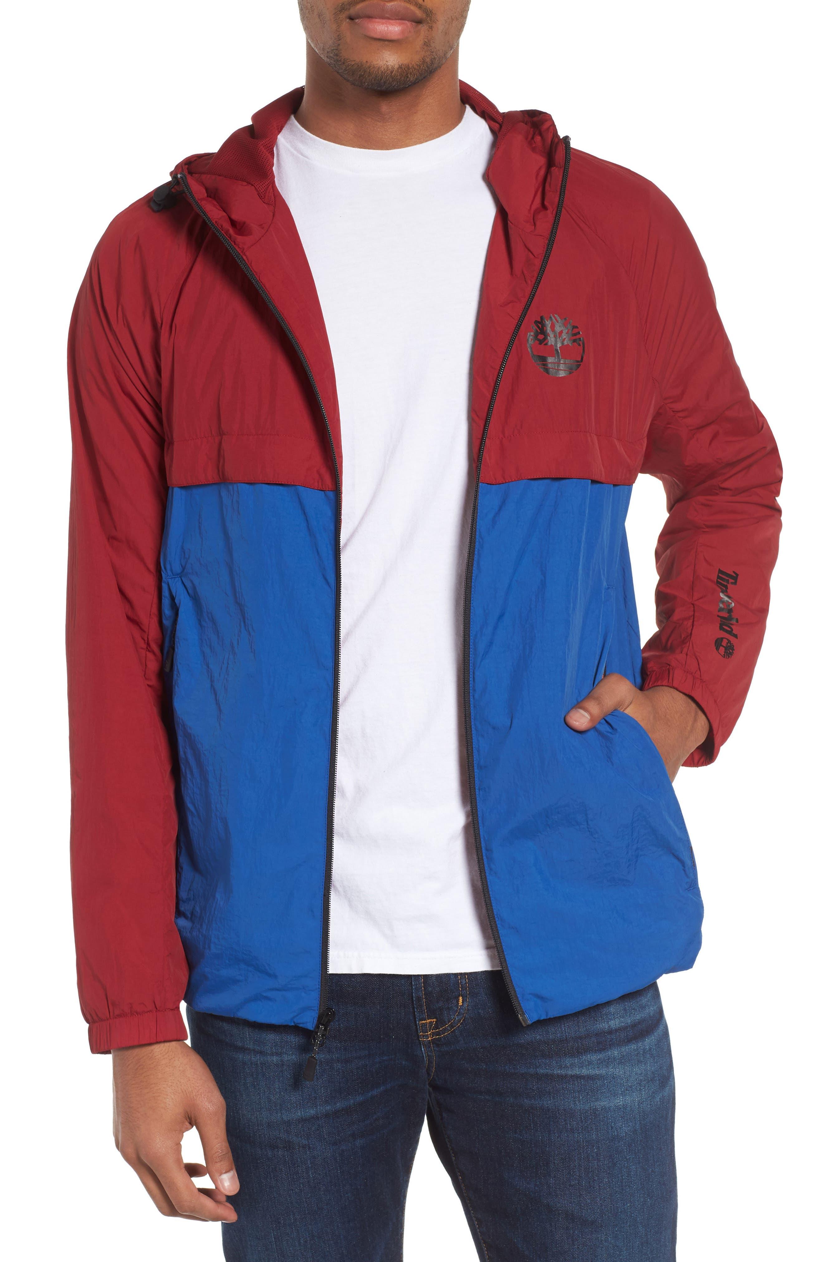 Timberland Camo Windbreaker Jacket