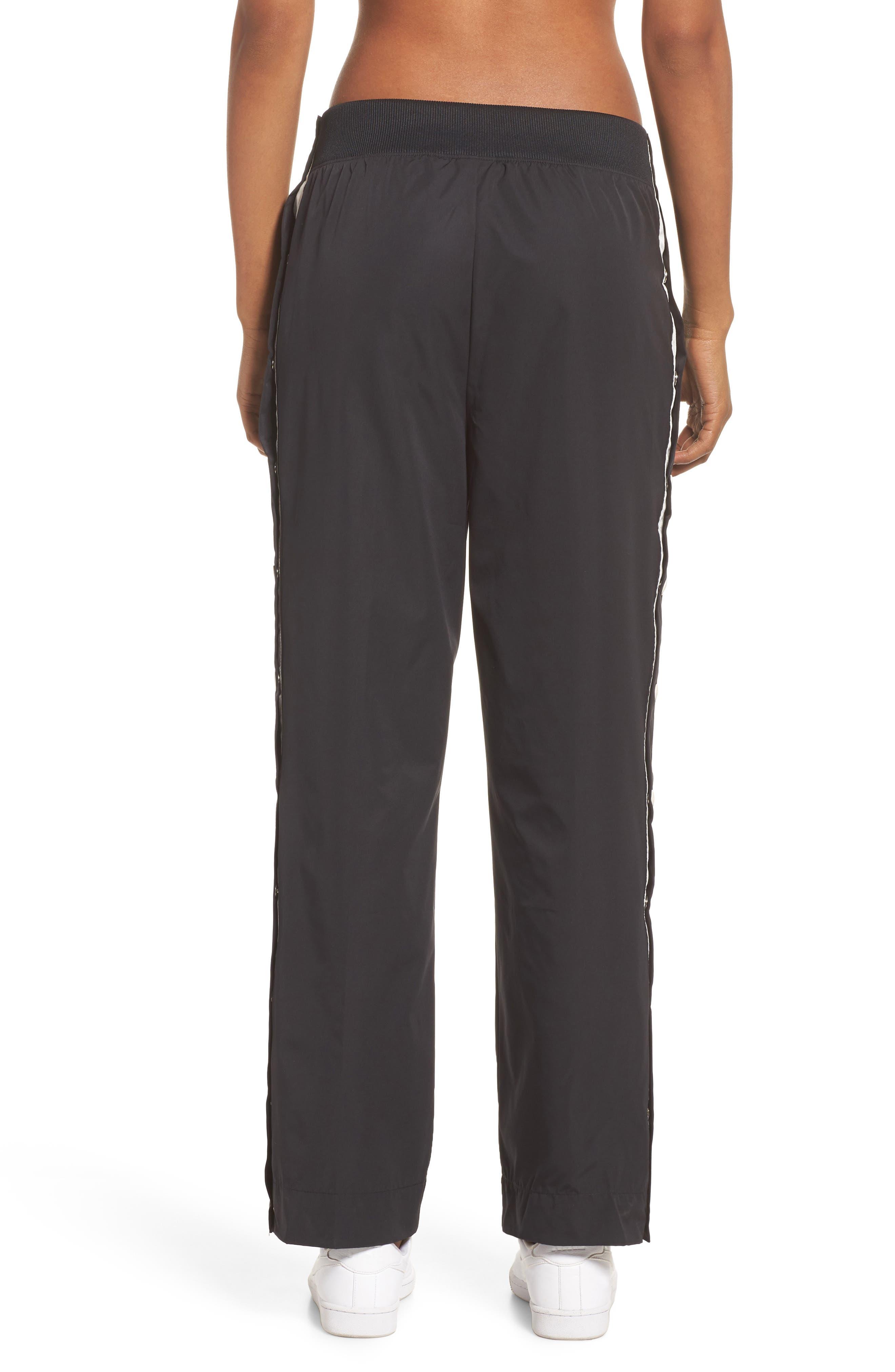 Sportswear Archive Snap Track Pants,                             Alternate thumbnail 2, color,                             Black/ Sail