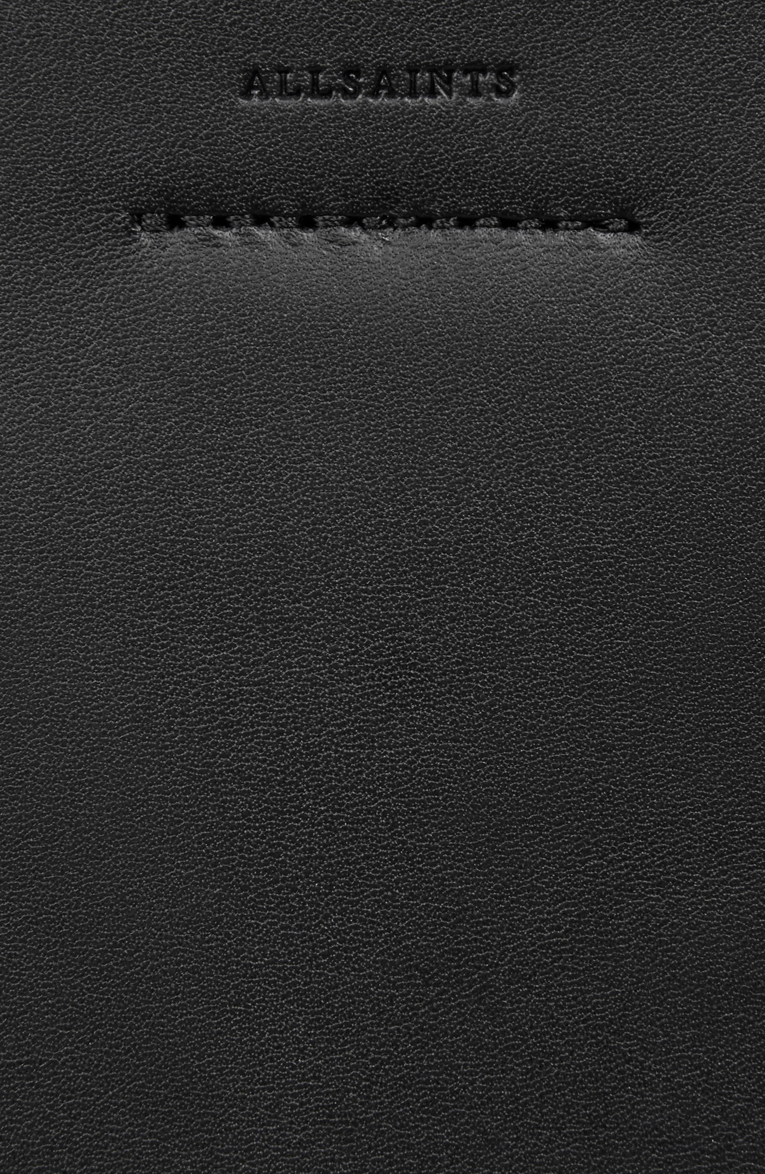 Alternate Image 7  - ALLSAINTS Suzi North/South Leather Tote