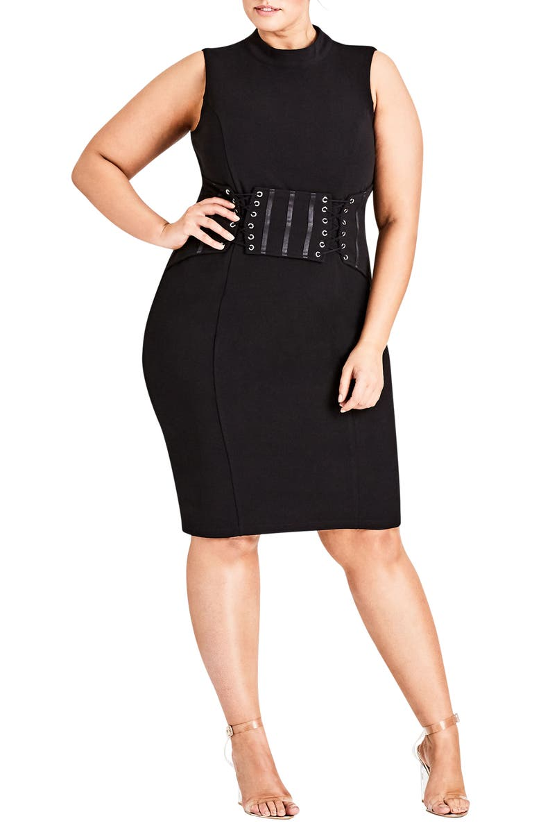 Corset Body-Con Dress