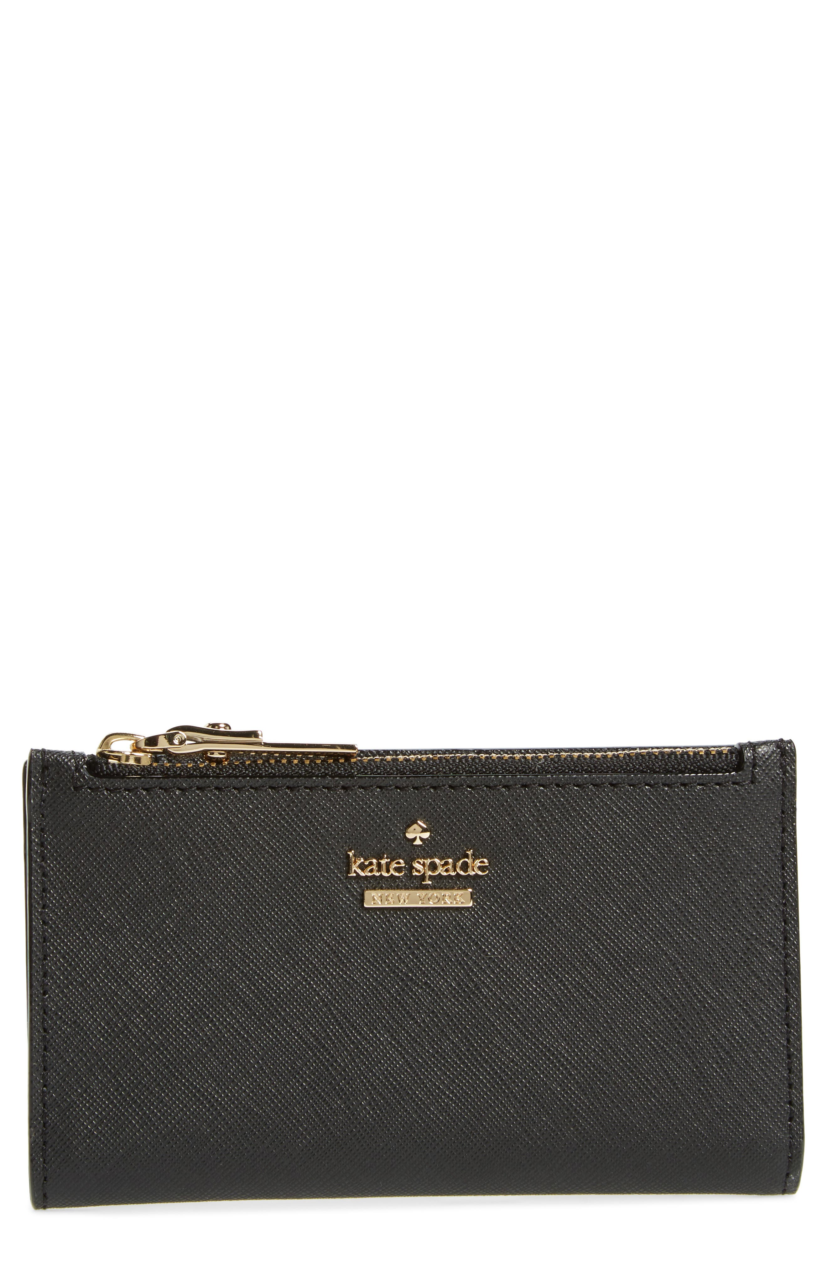 cameron street - mikey leather wallet,                         Main,                         color, Black