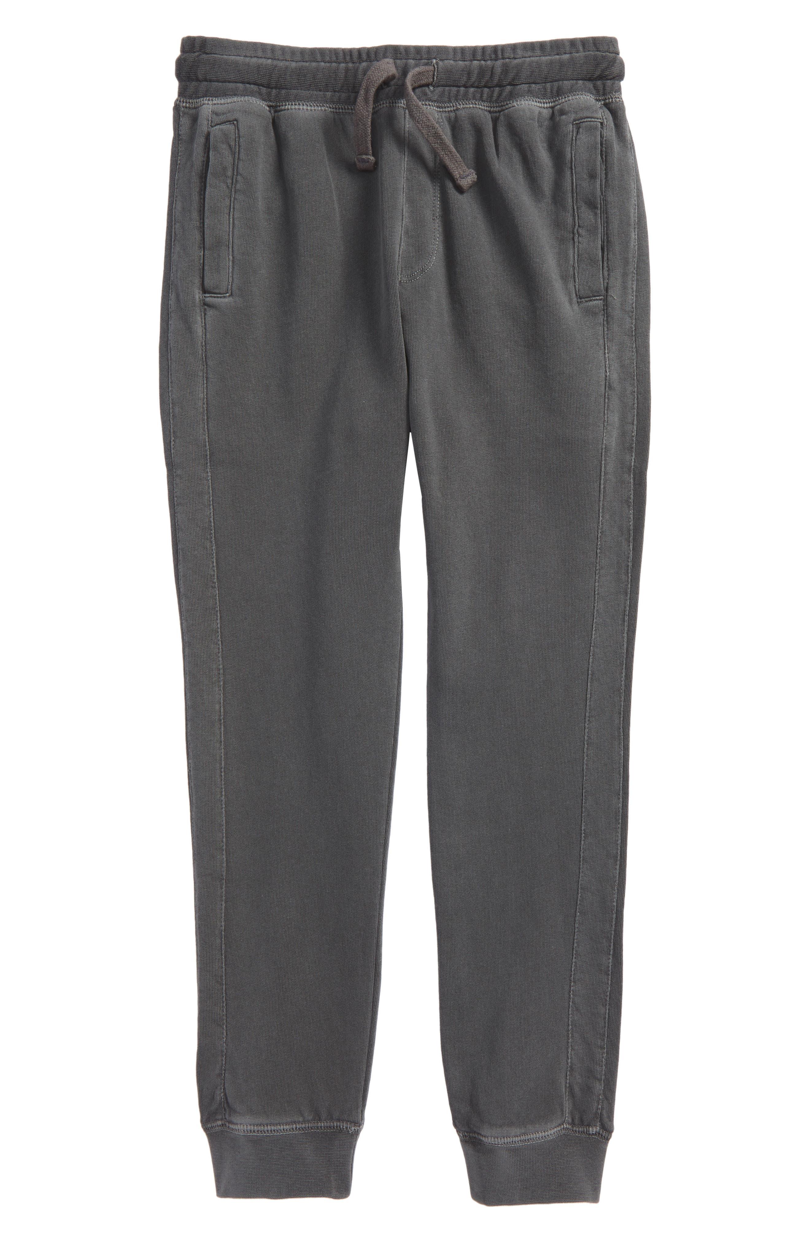 Fleece Jogger Pants,                             Main thumbnail 1, color,                             Grey Castlerock