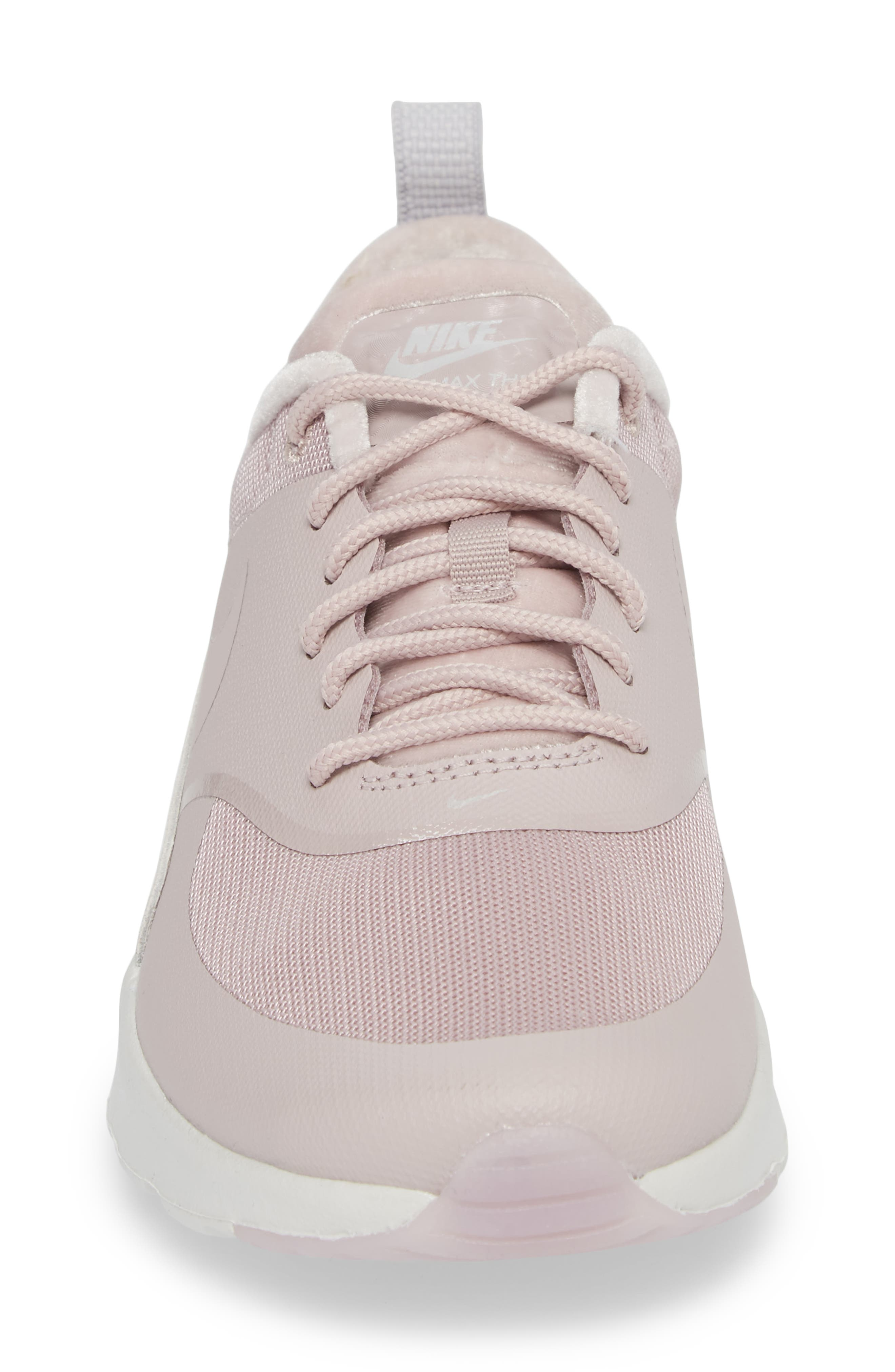 Air Max Thea LX Sneaker,                             Alternate thumbnail 4, color,                             Particle Rose/ Particle Rose