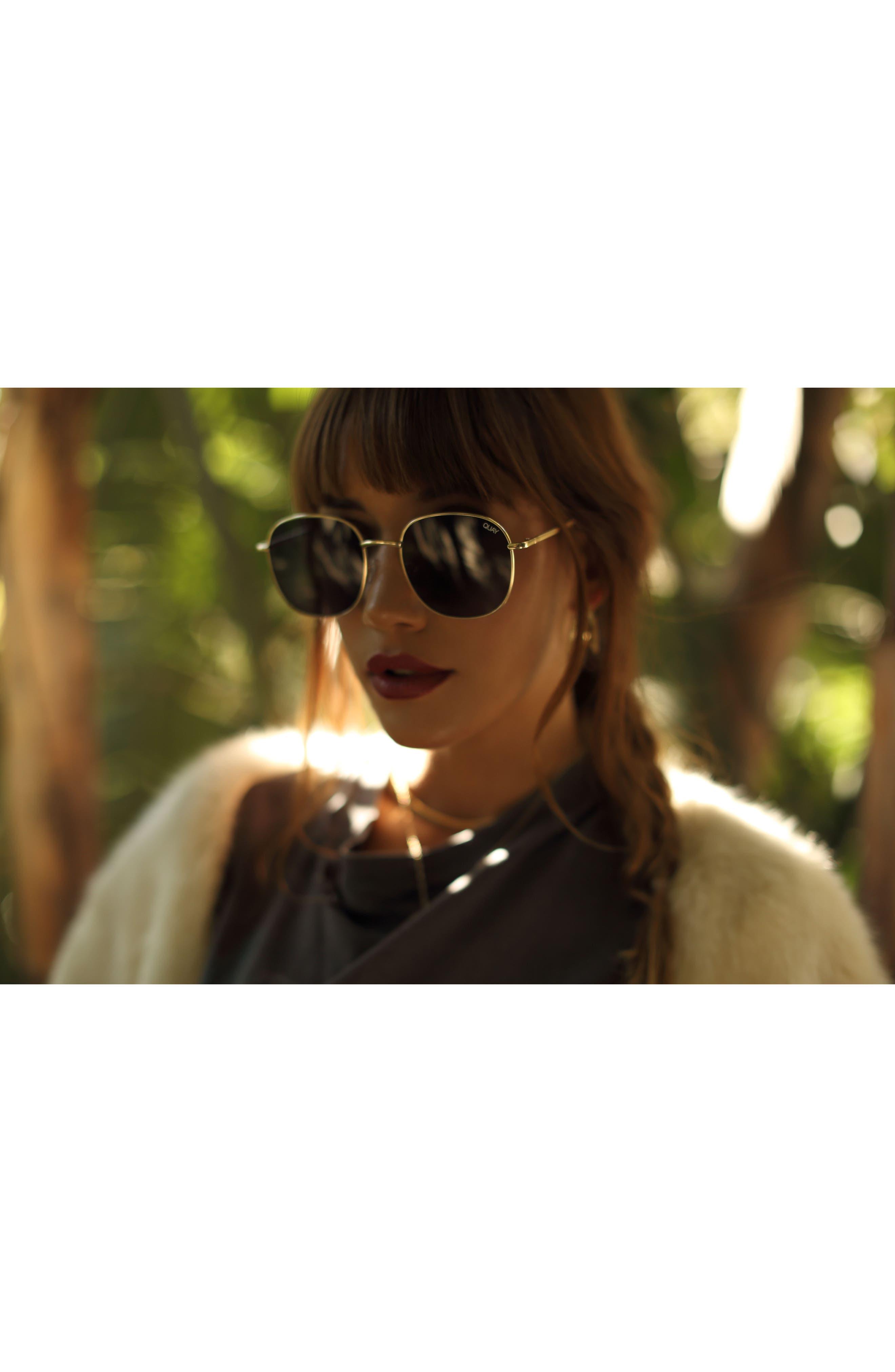 Alternate Image 2  - Quay Australia Jezabell 57mm Round Sunglasses