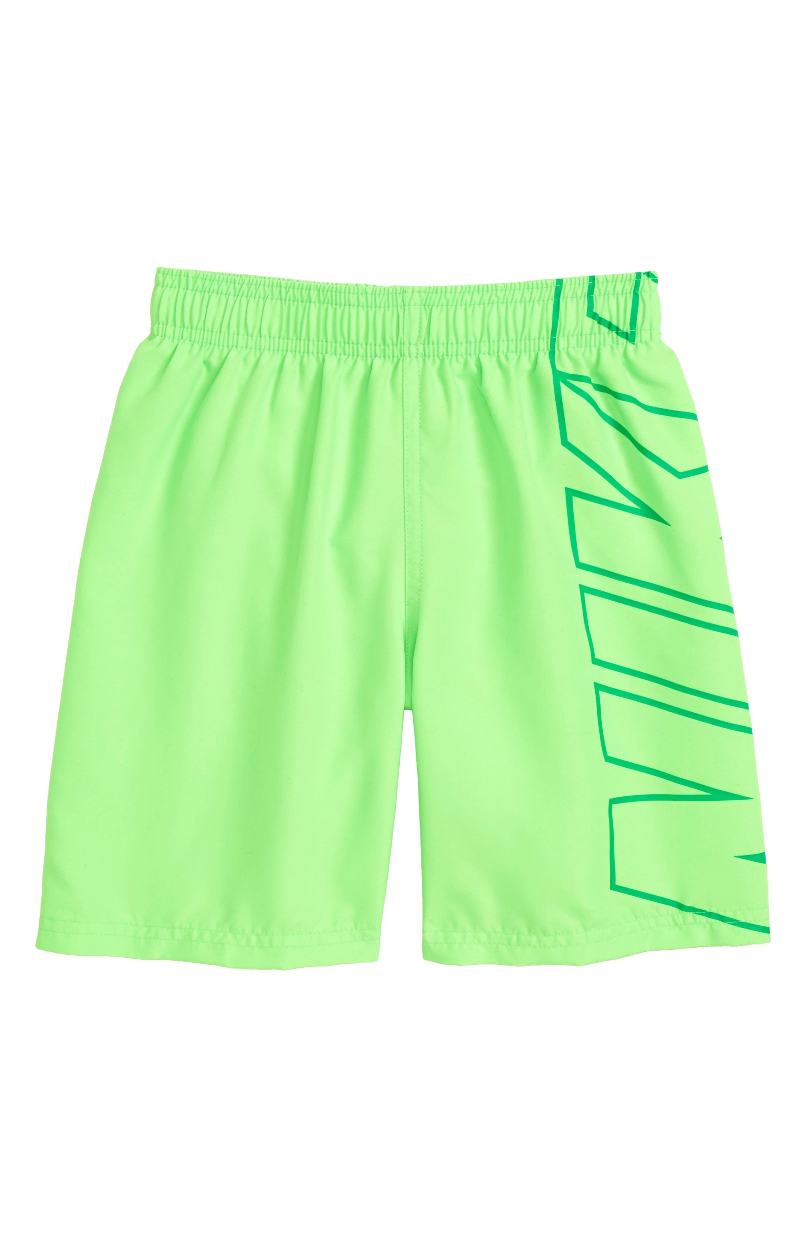 Breaker Board Shorts,                         Main,                         color, Green Strike