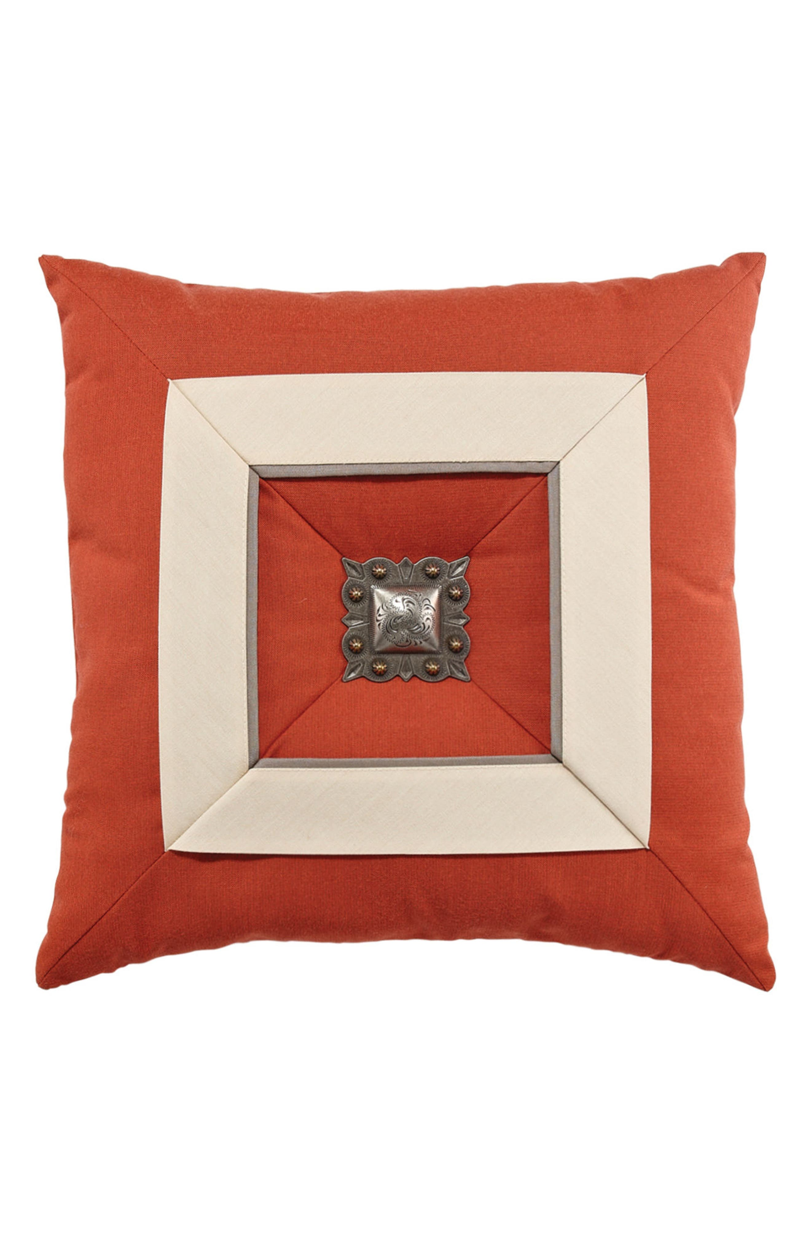 Elaine Smith Coral Cruise Accent Pillow