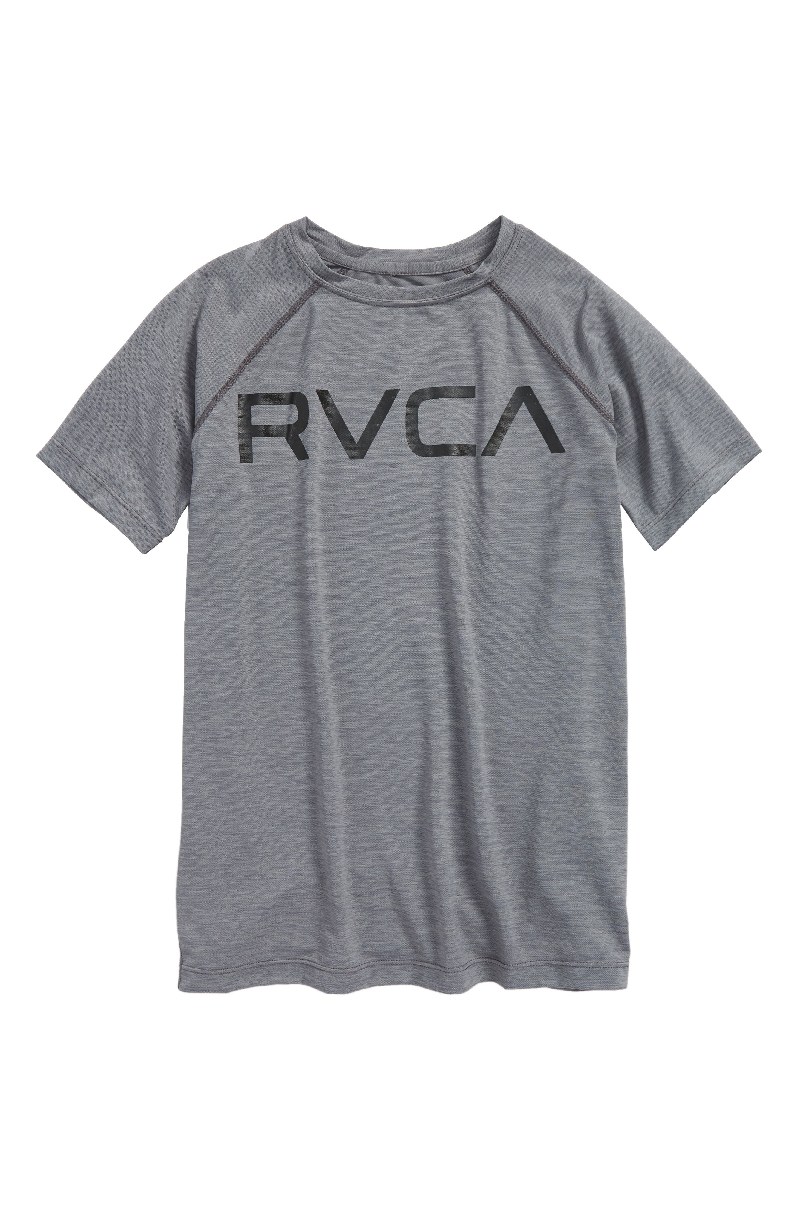 Micro Mesh Graphic T-Shirt,                         Main,                         color, Grey Noise
