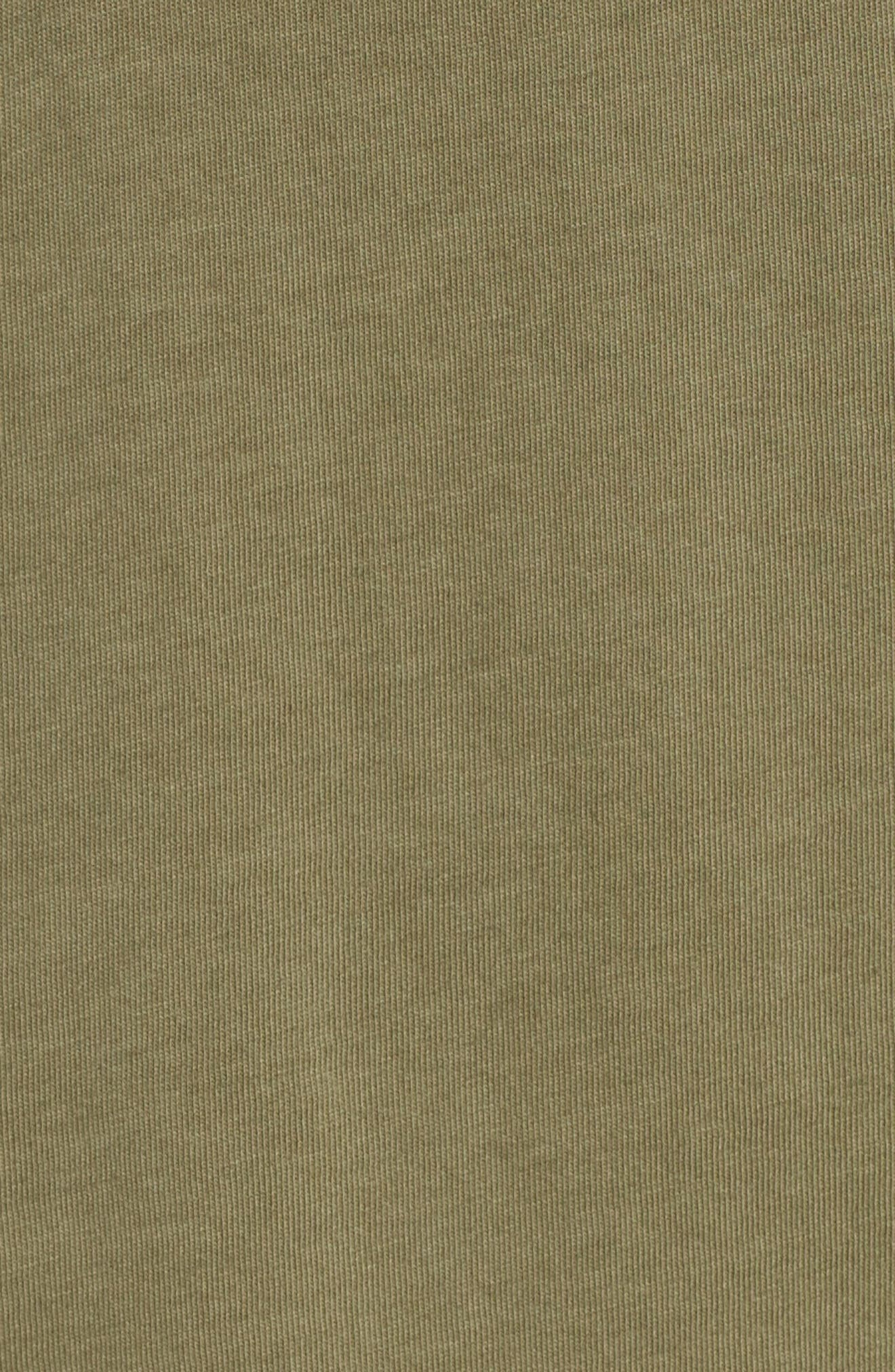 Classic Jersey Polo,                             Alternate thumbnail 5, color,                             Army