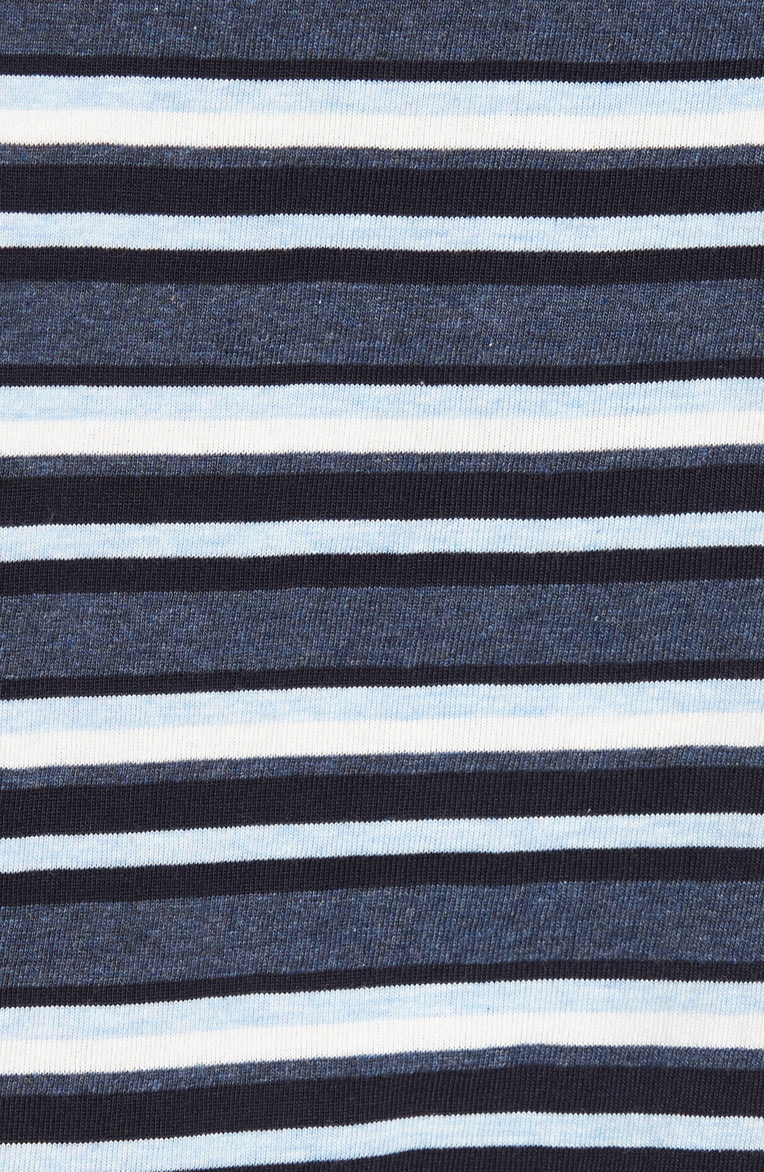 Majetic International Sleep On It Pajama Set,                             Alternate thumbnail 5, color,                             Alfresco Stripe