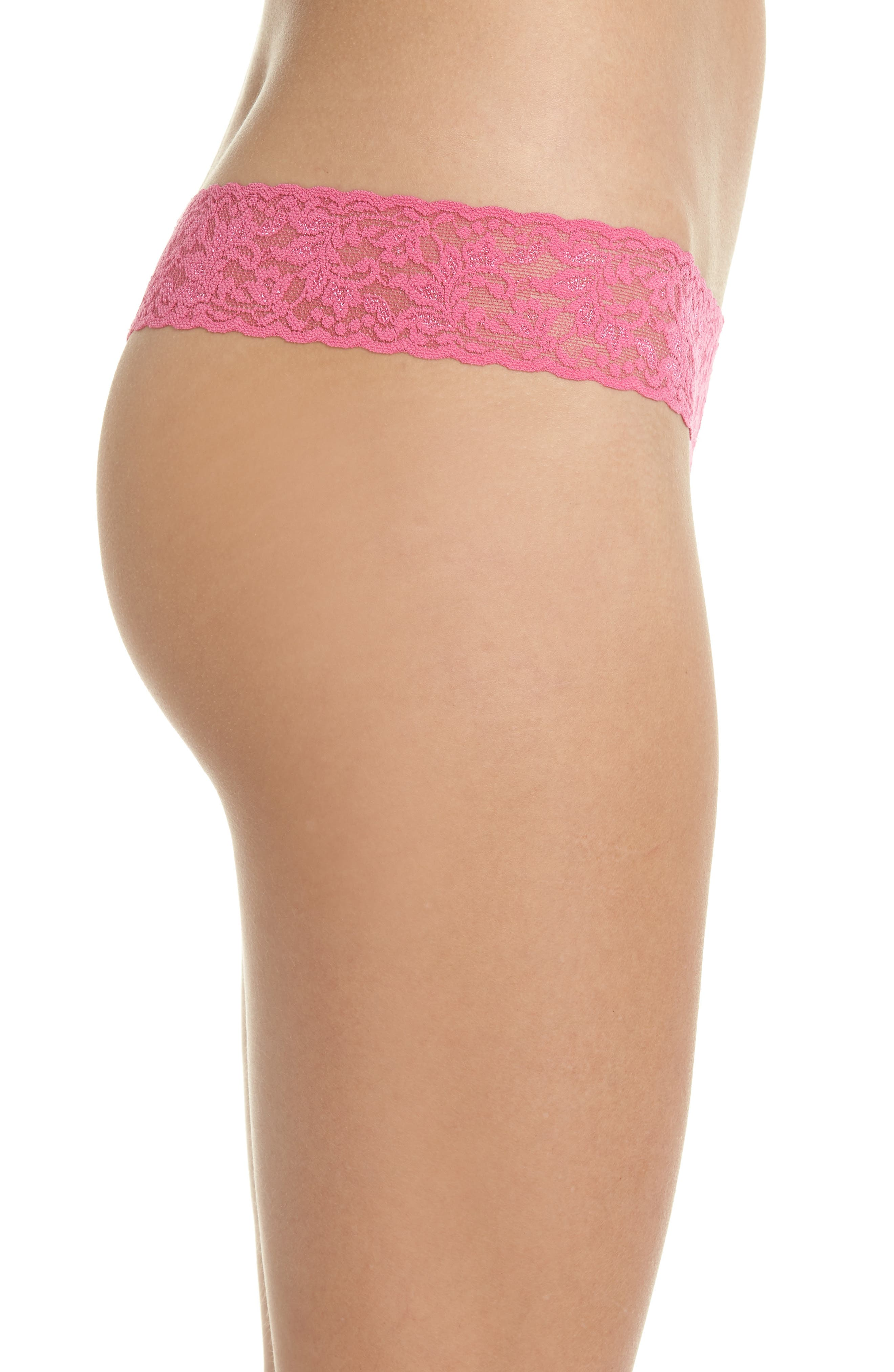 Alternate Image 3  - Hanky Panky Signature Lace Low Rise Thong