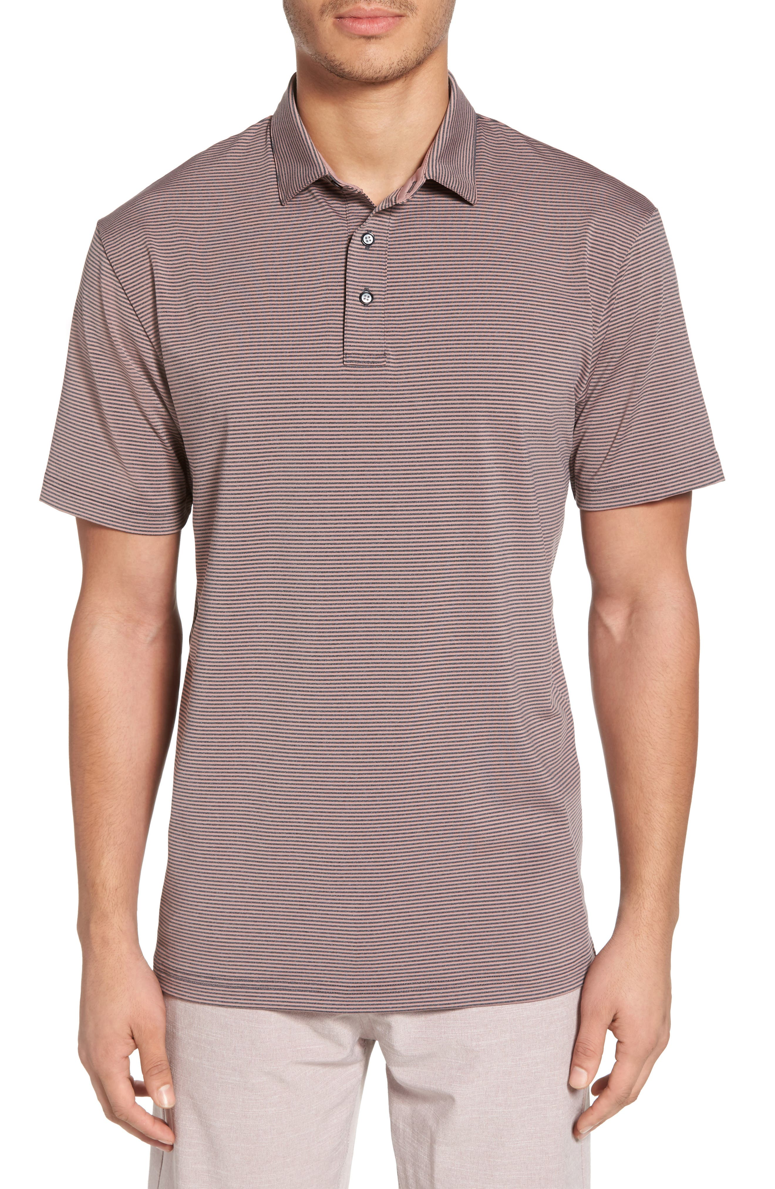 Devereux Oracle Stripe Jersey Polo