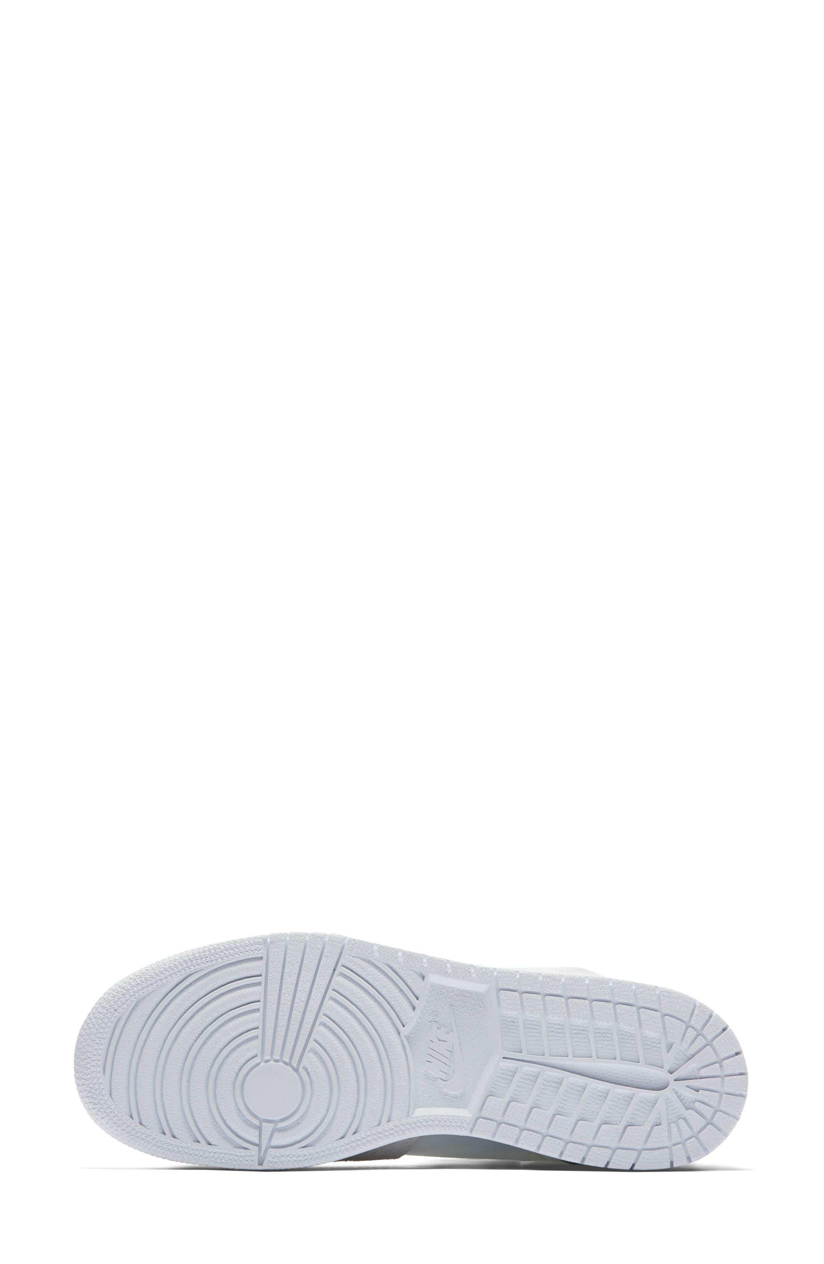 Air Jordan 1 Explorer XX Convertible High Top Sneaker,                             Alternate thumbnail 5, color,                             Off White/ Off White