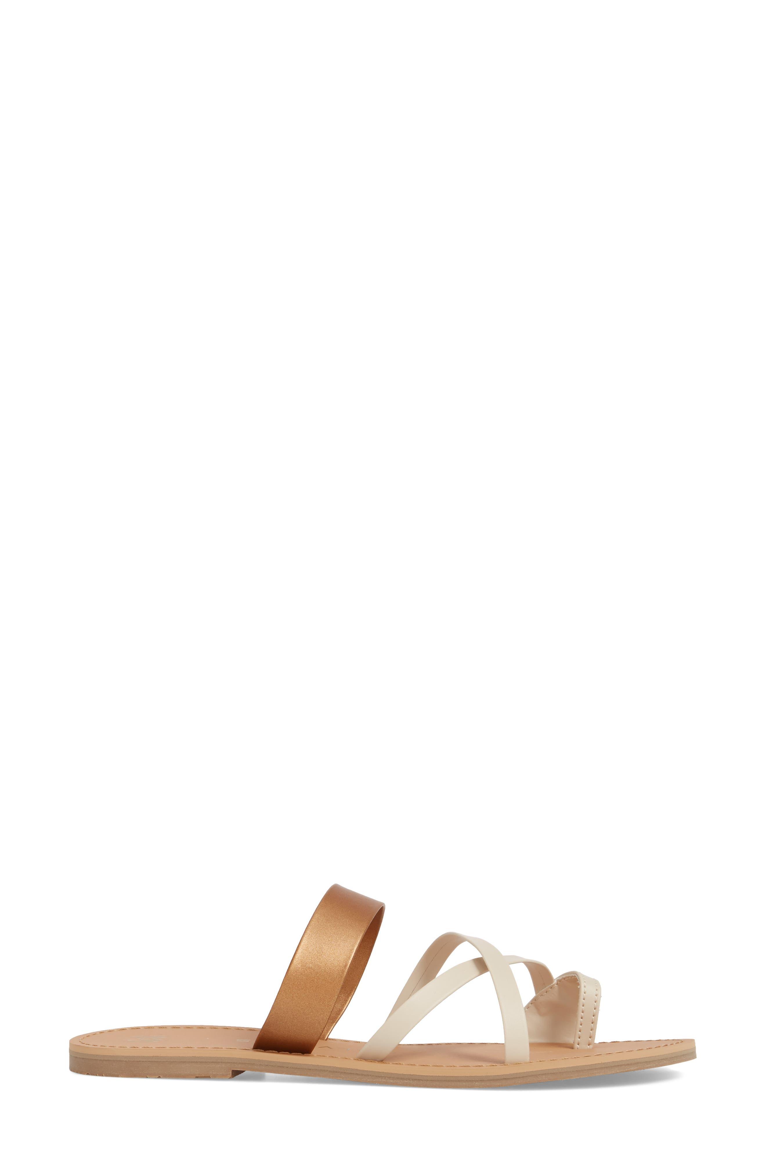 Icon Joni Slide Sandal,                             Alternate thumbnail 3, color,                             Penny