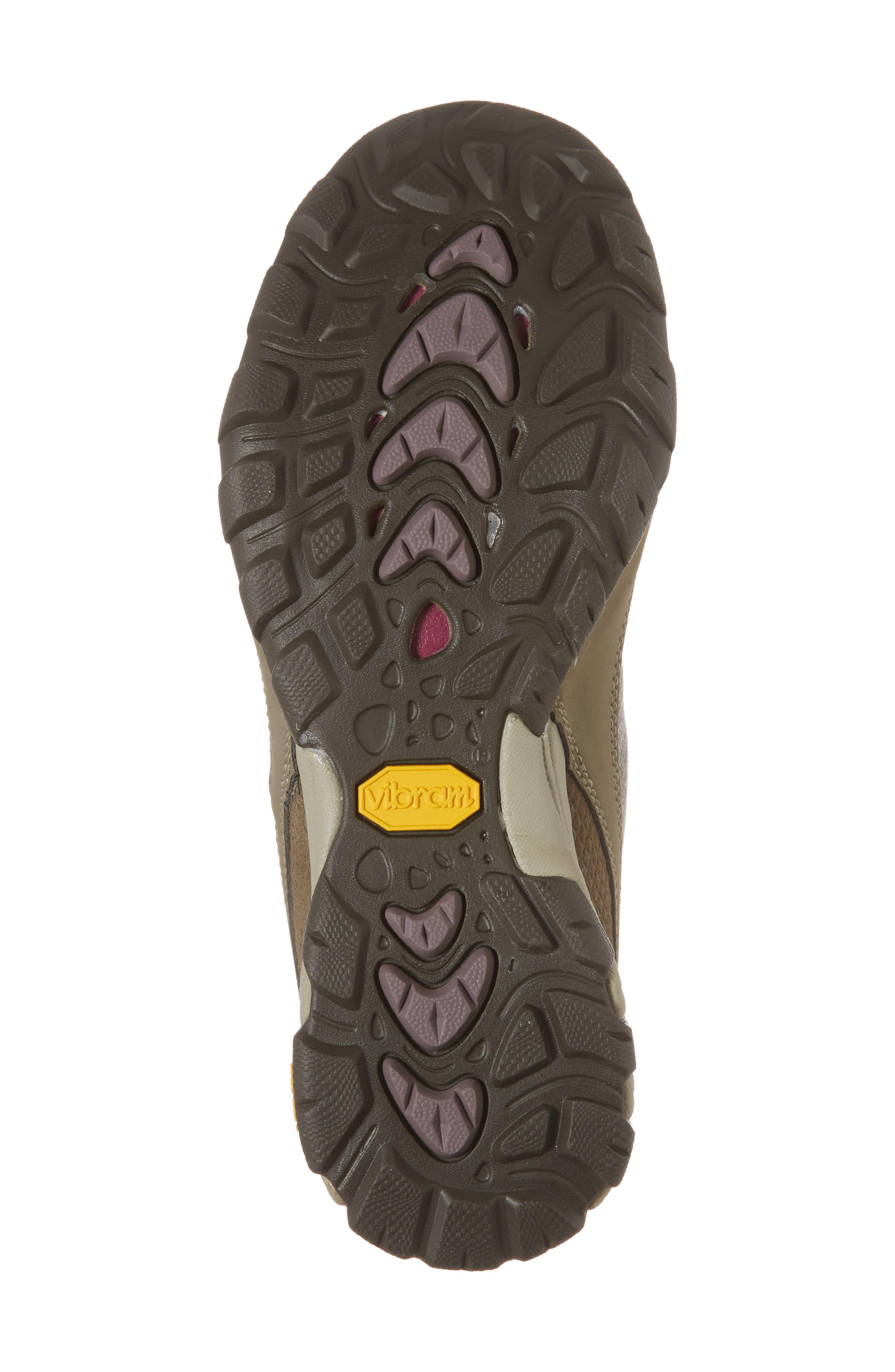 Ahnu by Teva Sugarpine II Waterproof Hiking Boot,                             Alternate thumbnail 6, color,                             Walnut